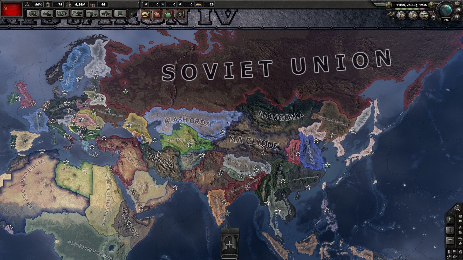 1920x1080 You have reformed the glorious Soviet Union! Now it is time to conquer and  reunite previous Russian lands! Thank you for reading!