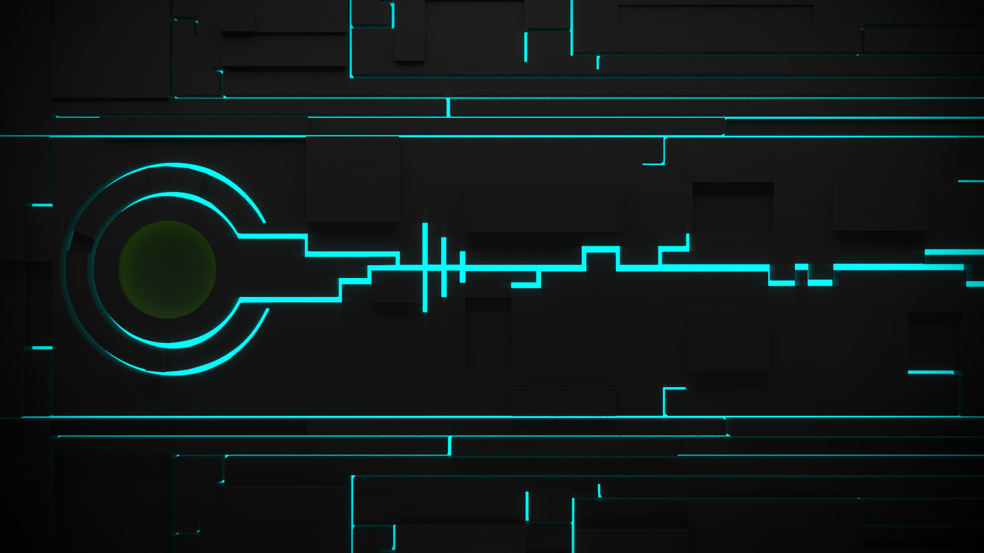 1920x1080 Abstract Alien Backgrounds Blue Glow Grid Tron Legacy