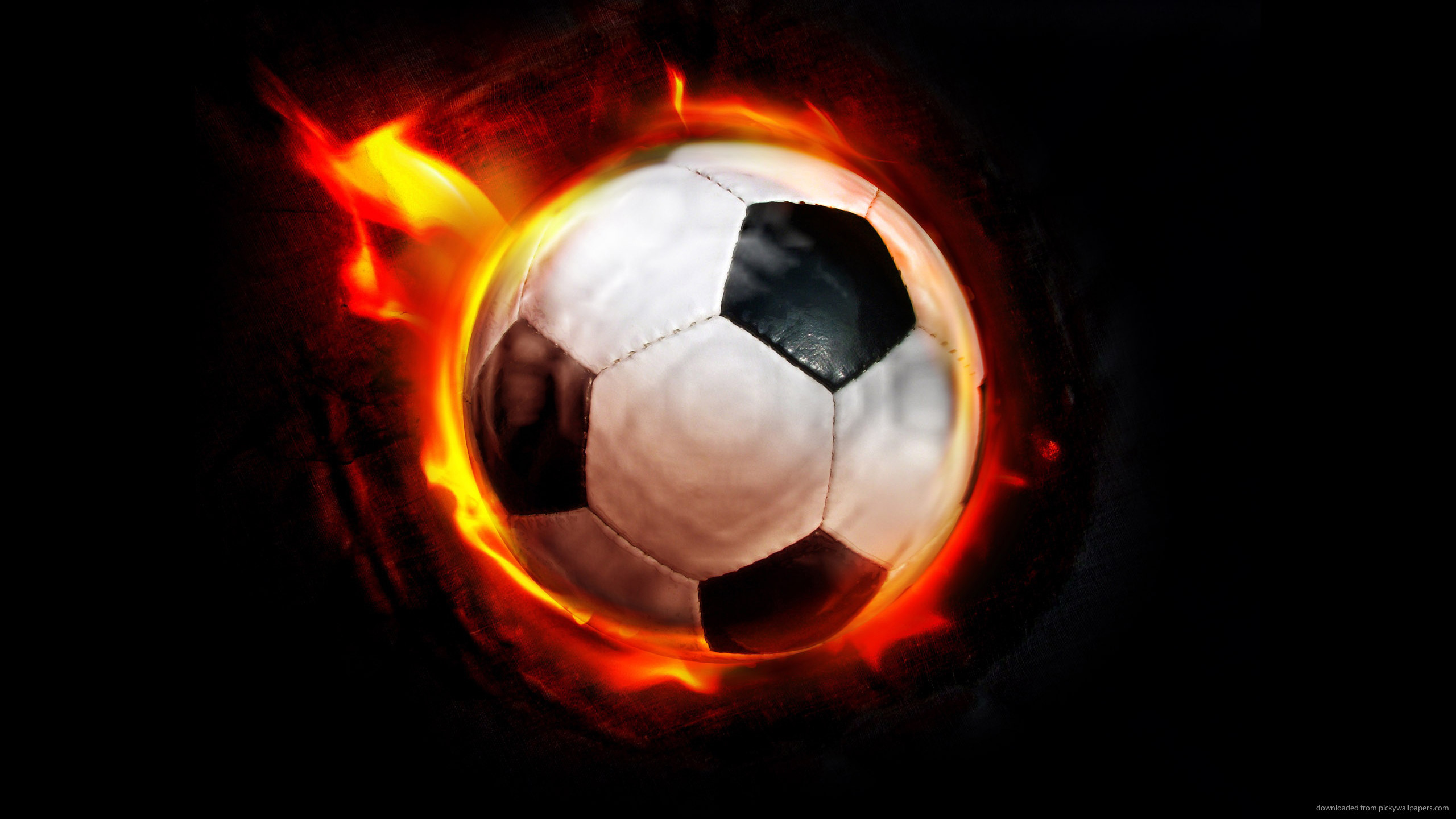 2560x1440 Soccer Ball Backgrounds Cool soccer ba…