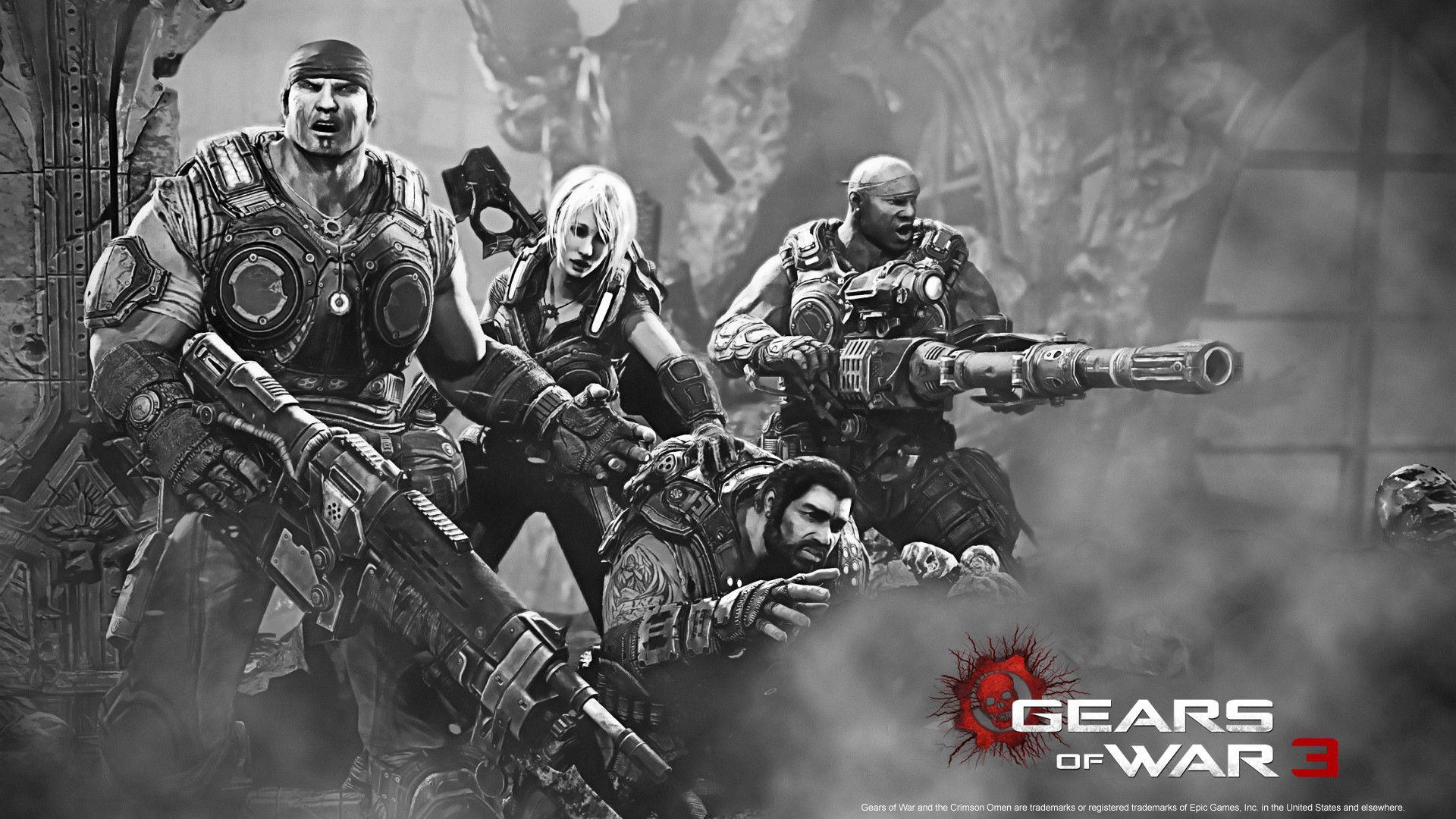 1920x1080 Gears of War 3 Wallpaper HD