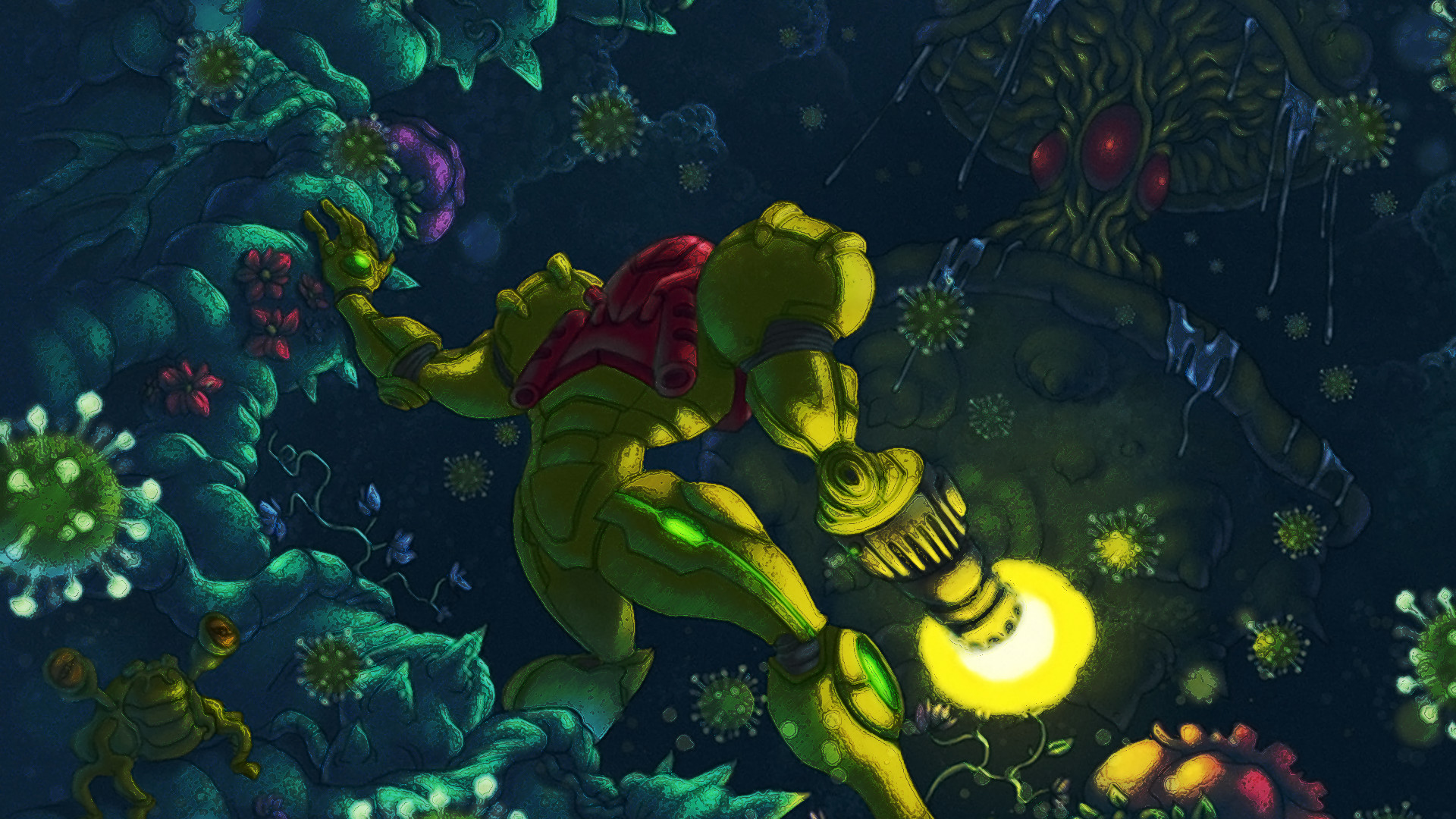1920x1080 HD Wallpaper | Background ID:271815.  Video Game Metroid