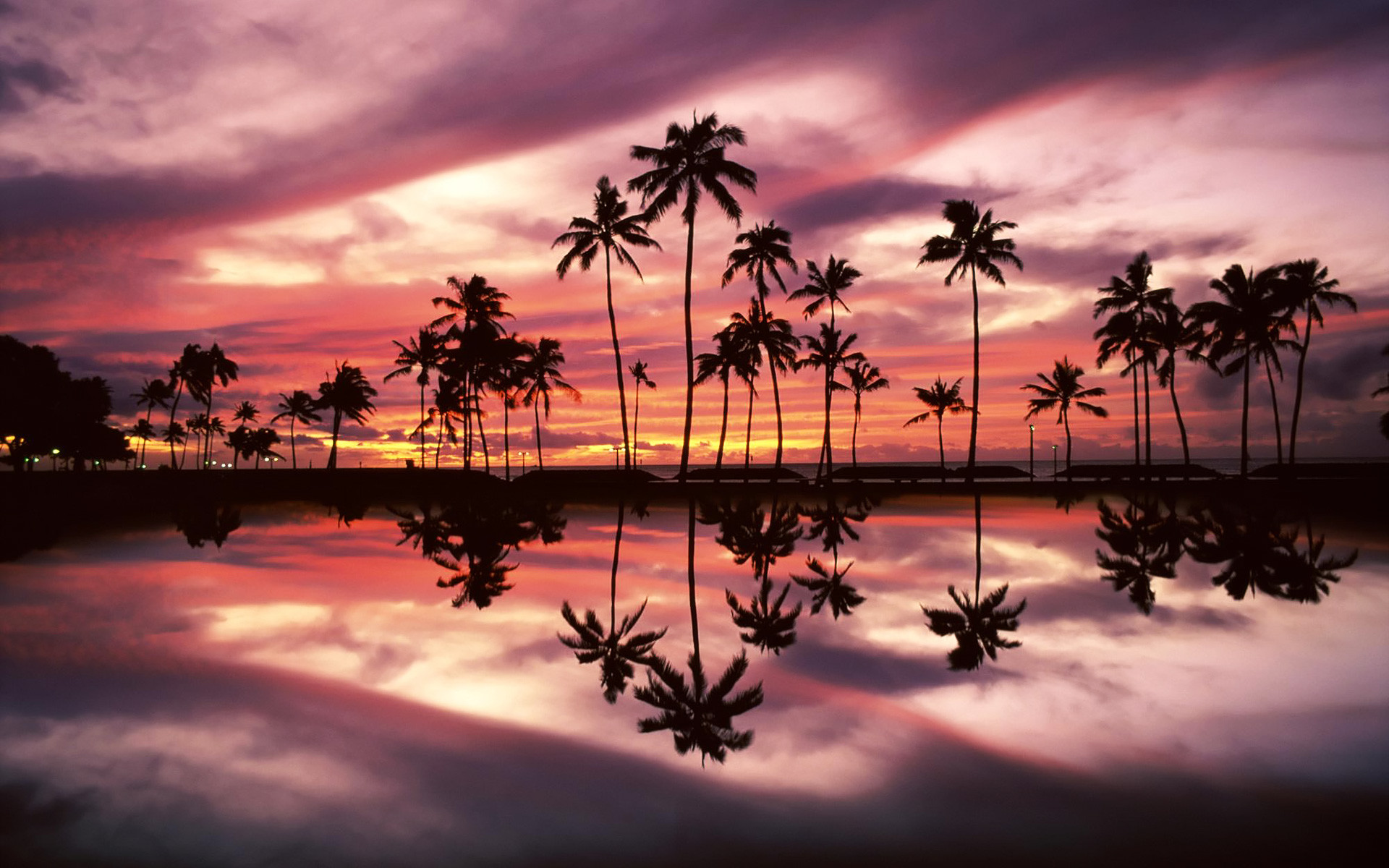 1920x1200 Beach Park, Honolulu, Oahu, Hawaii - wallpaper - Beach Wallpapers .