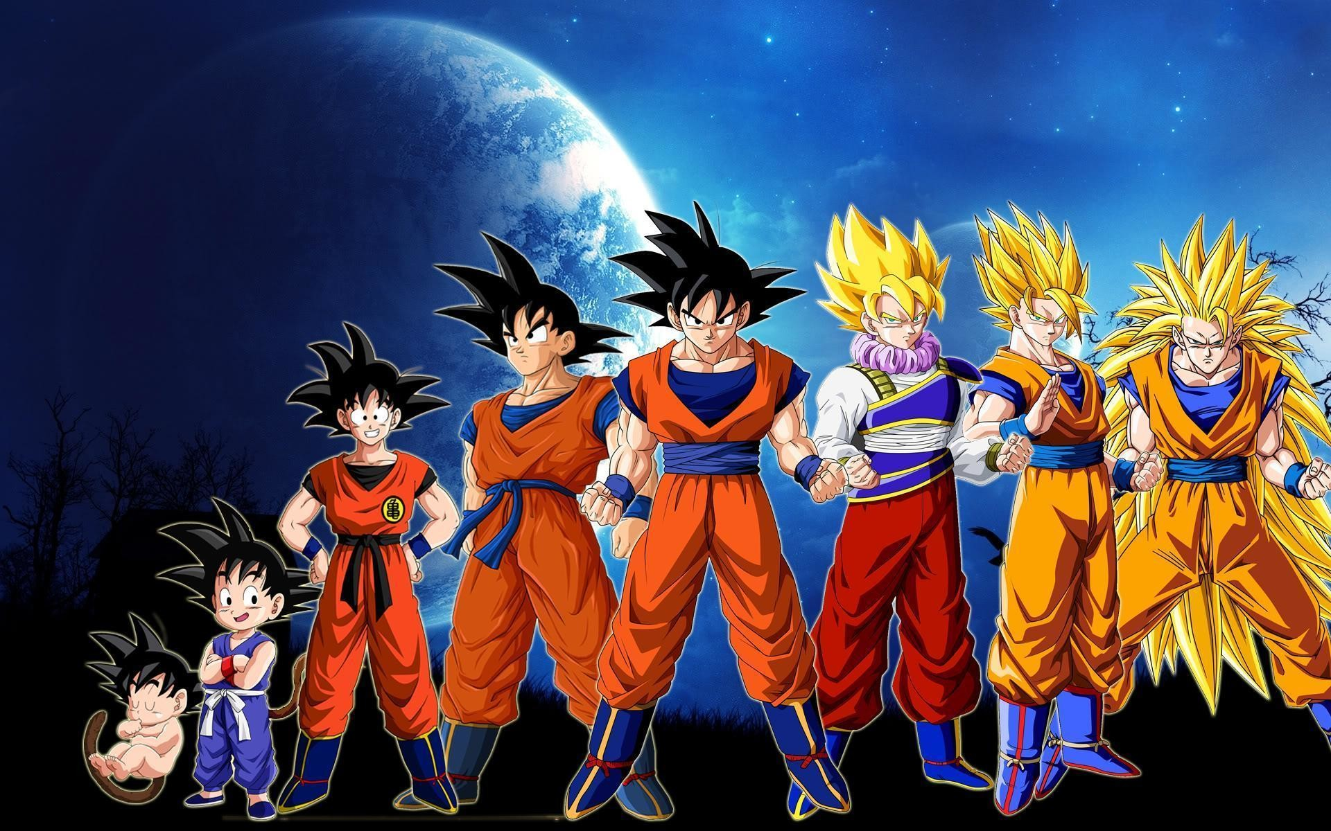 1920x1200 Dragon Ball Z Goku Story Wallpaper For Iphone | Cartoons Images