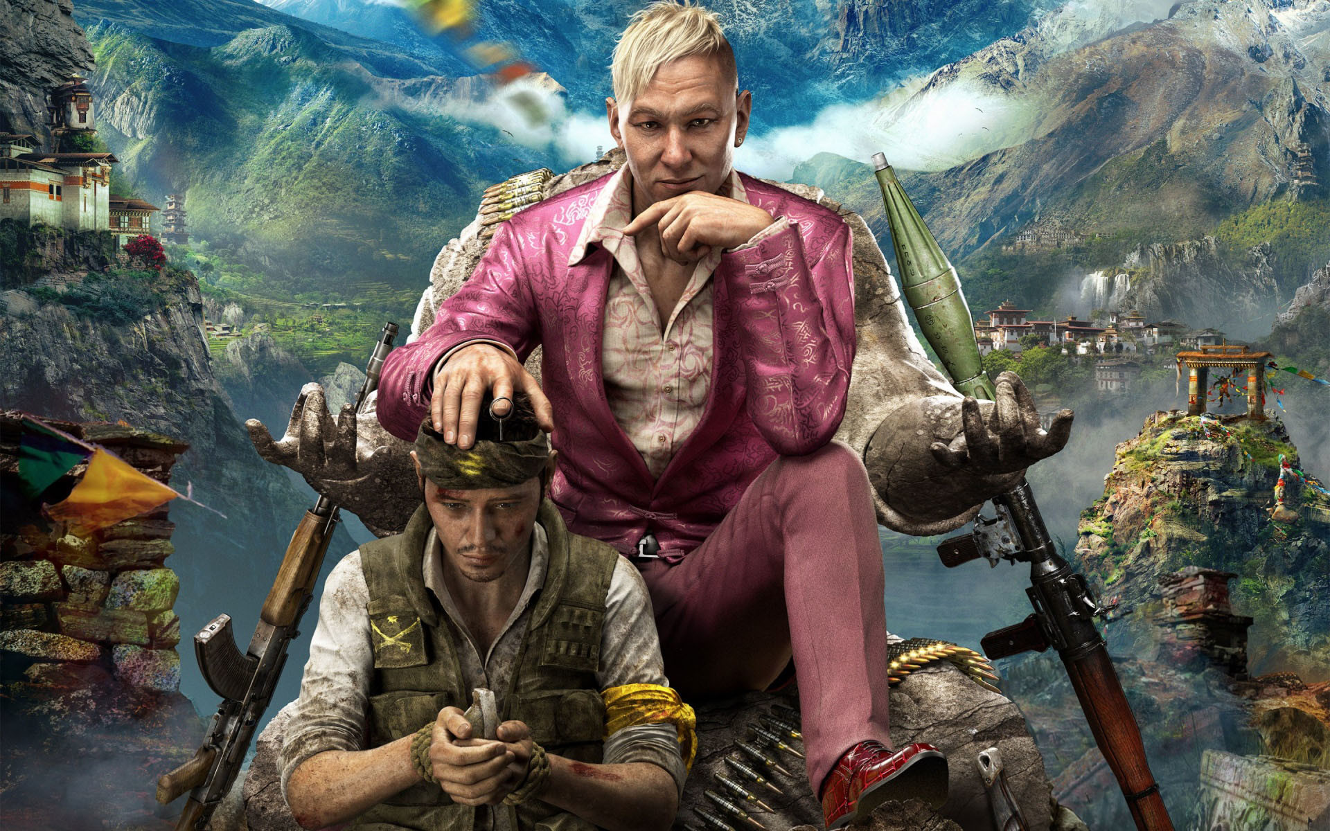 1920x1200 King Pagan Min in Far Cry 4 (71 Wallpapers)