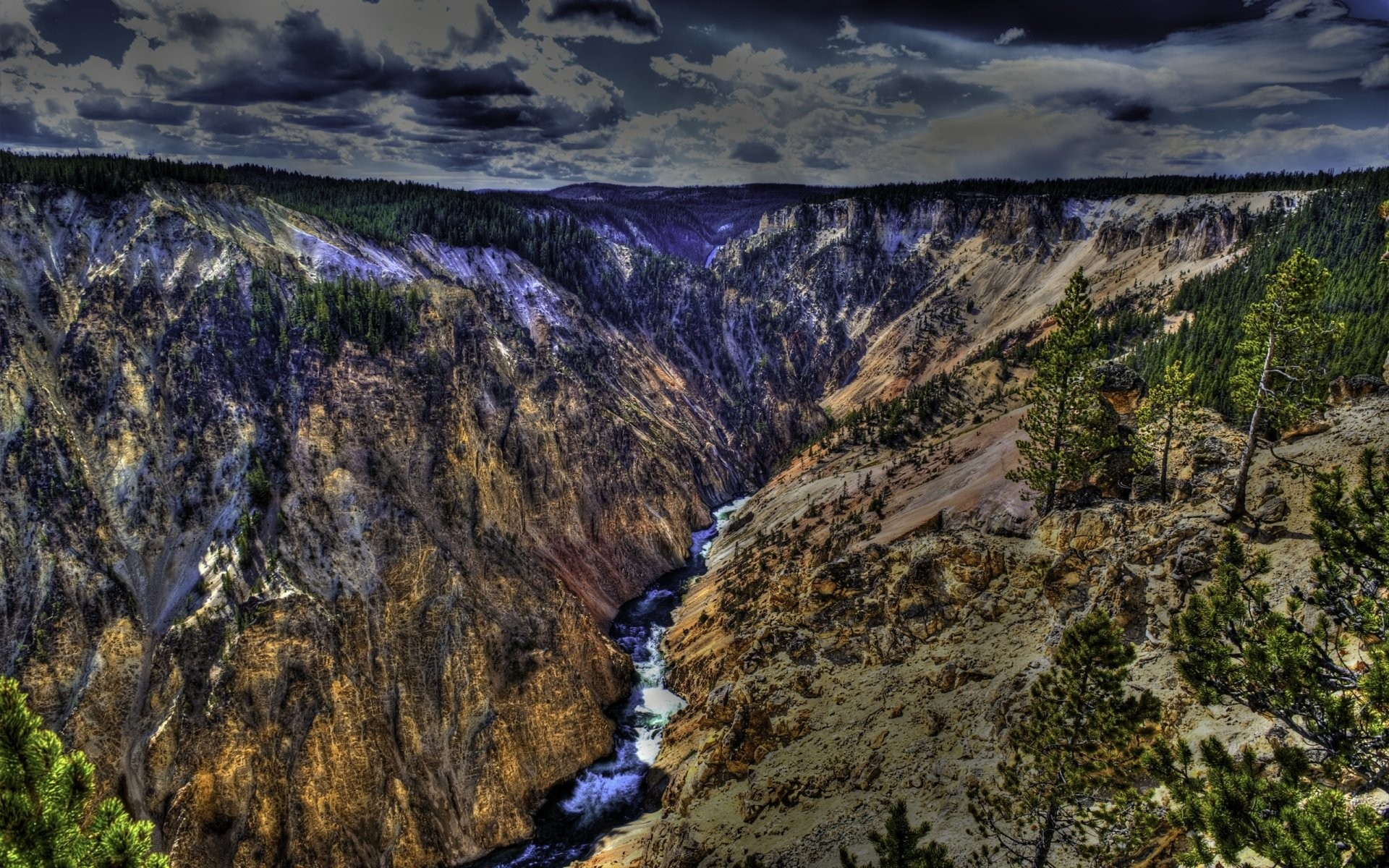 1920x1200 14 Yellowstone National Park HD Wallpapers | Background Images - Wallpaper  Abyss