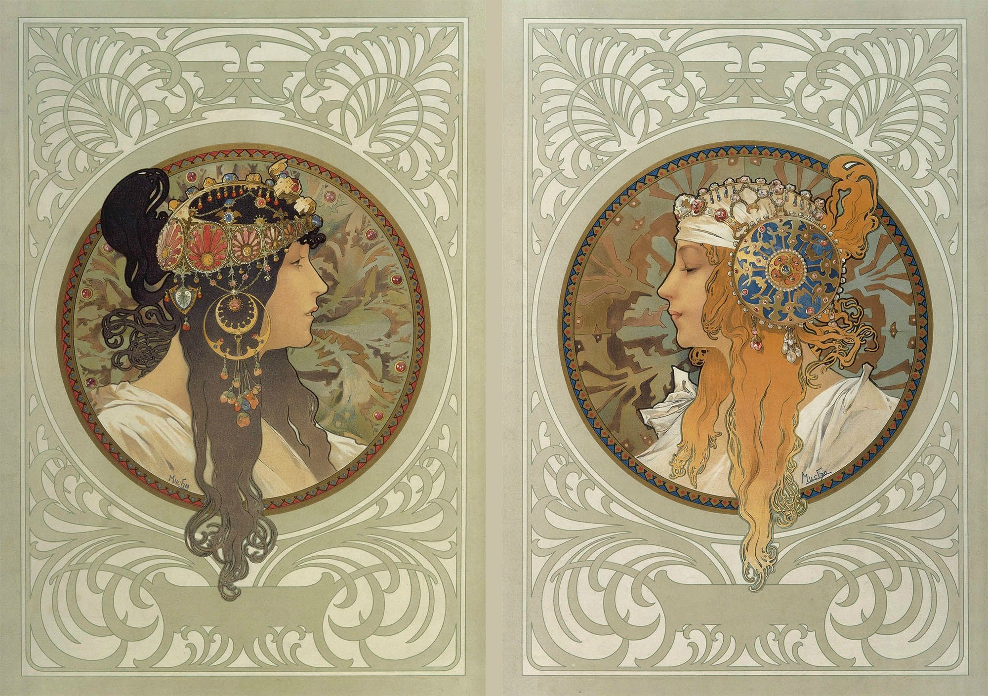 2000x1409 Alphonse Mucha Wallpapers Widescreen