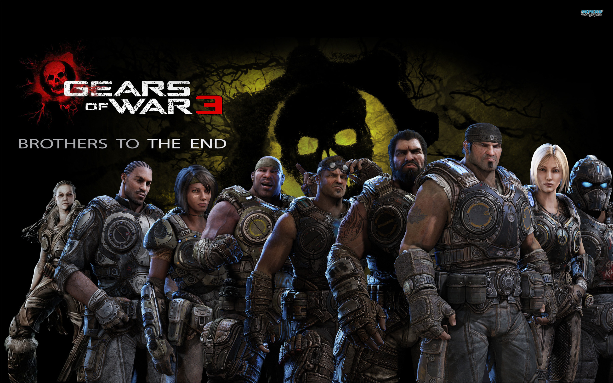 2560x1600 Gears Of War