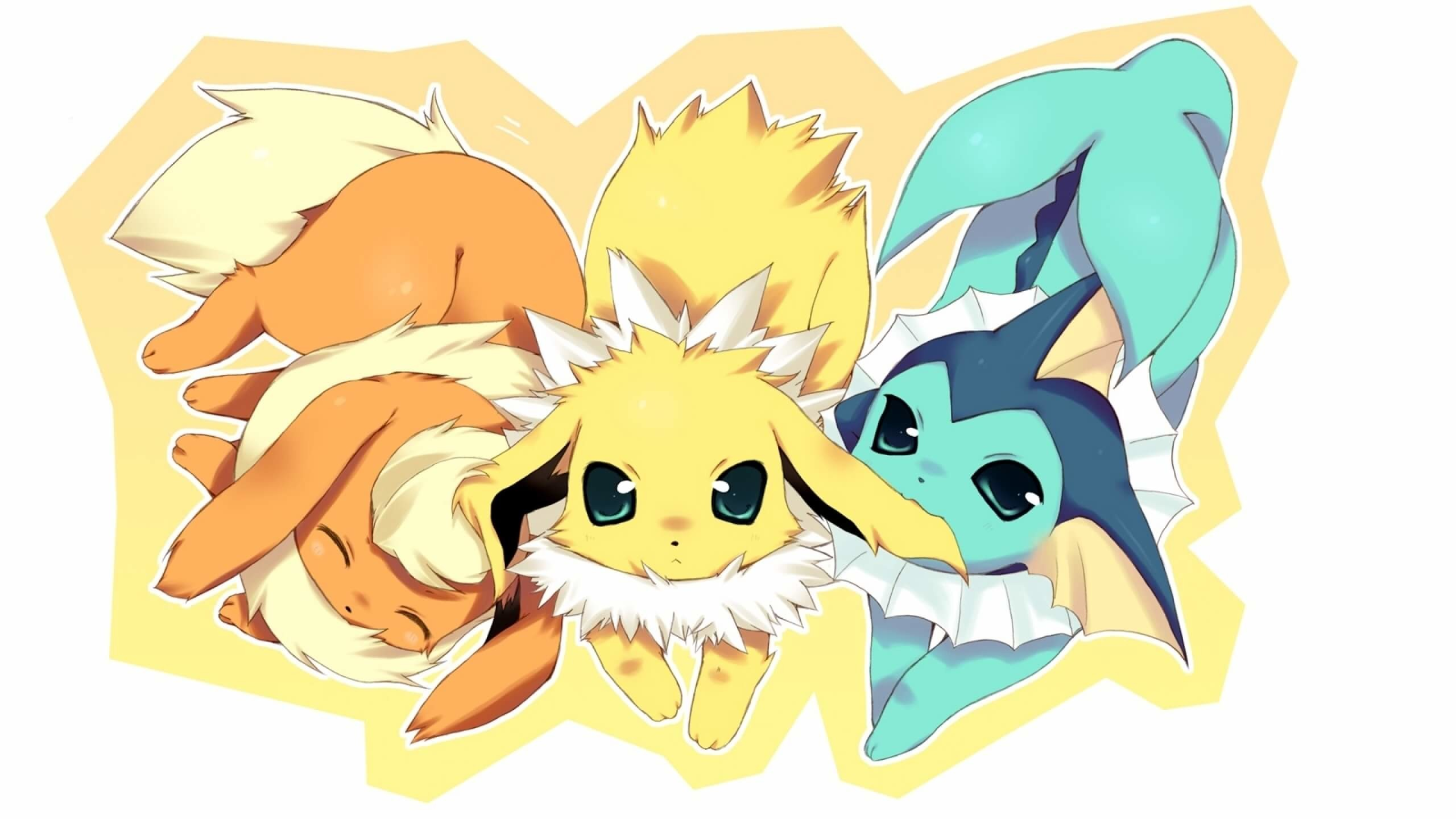 2560x1440 How do I evolve my Eevee into a Jolteon, Vaporeon or Flareon in Pokemon Go?