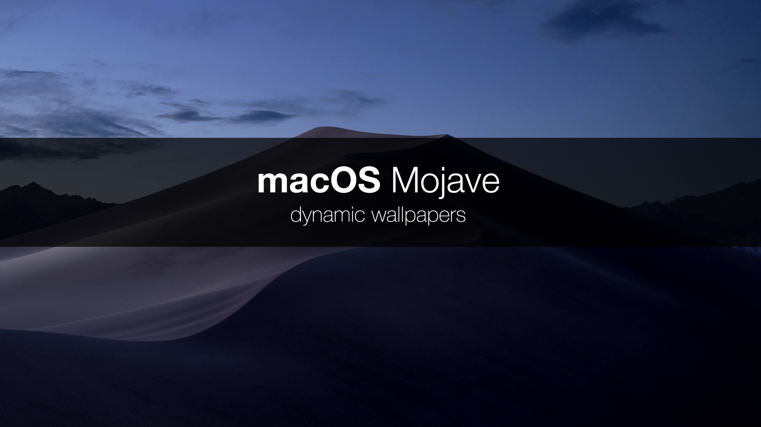 2600x1462 How Apple built dynamic wallpapers? And is it possible to create your own dynamic  wallpaper for macOS? I spent some time because I would like to answer to ...