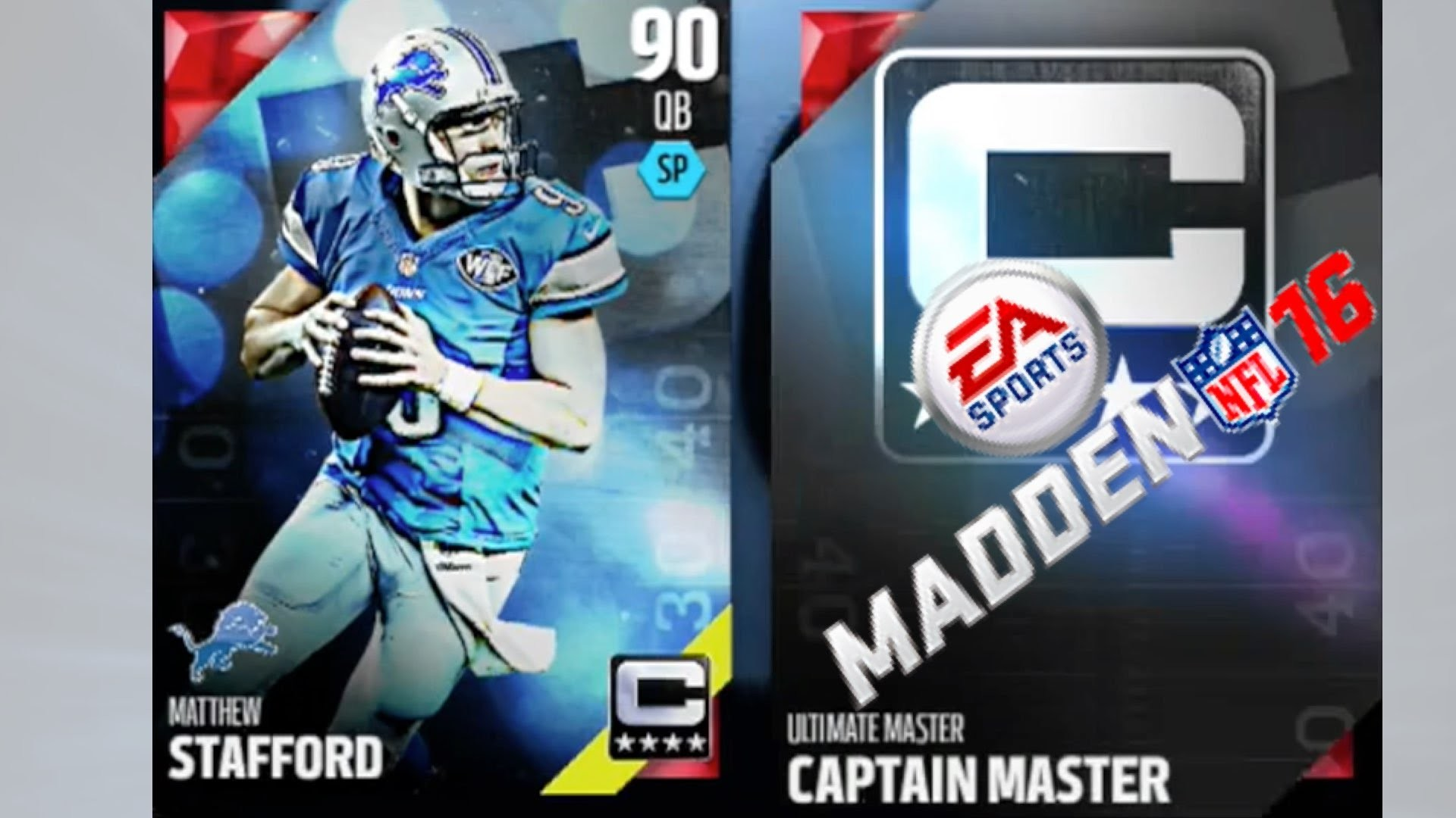 1920x1080 CAPTAIN MASTER MATTHEW STAFFORD Madden 16 Ultimate Team | MUT 16 PS4  Gameplay