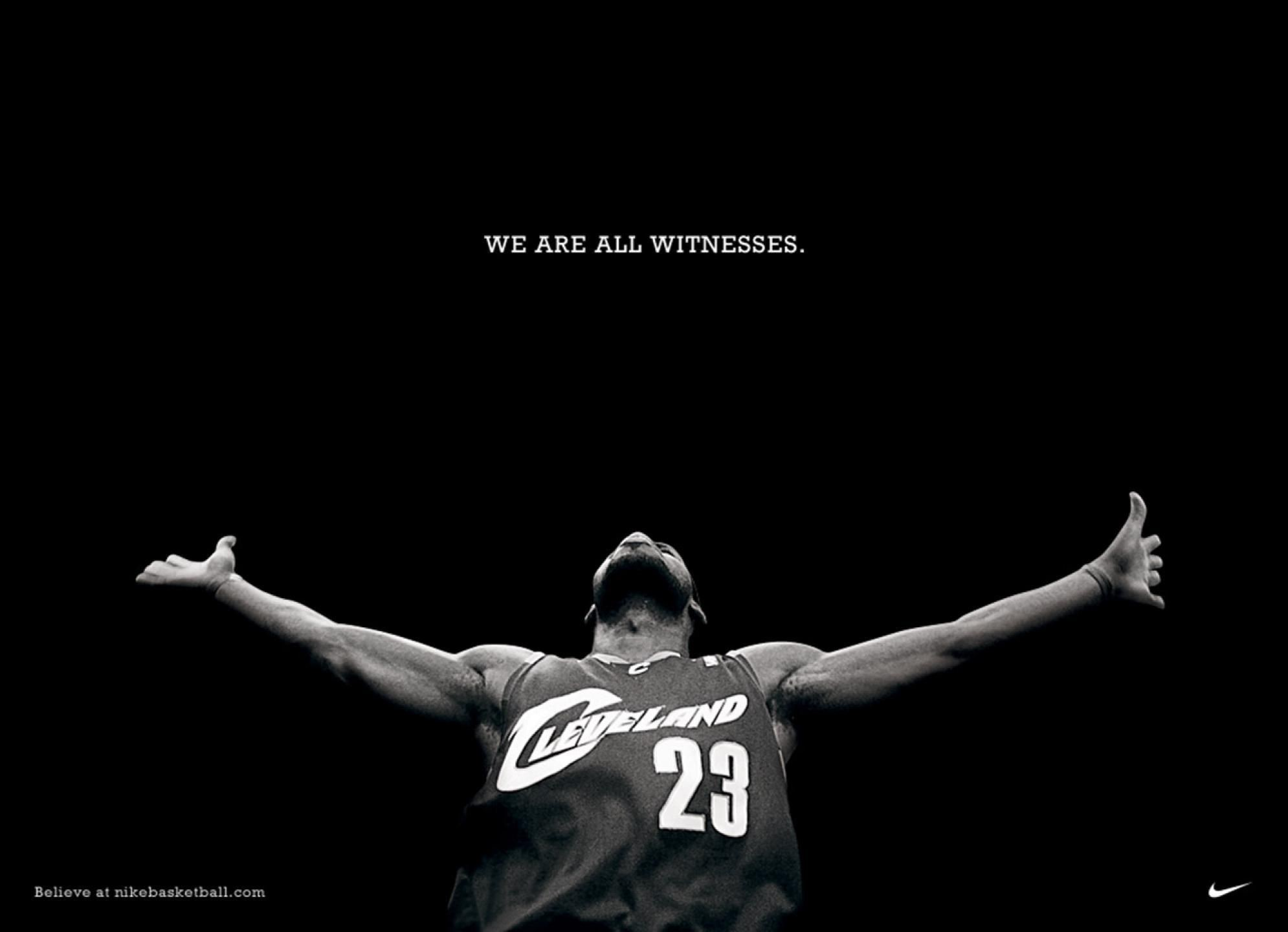 1990x1440 LeBron James Wallpaper We Are All Witnesses