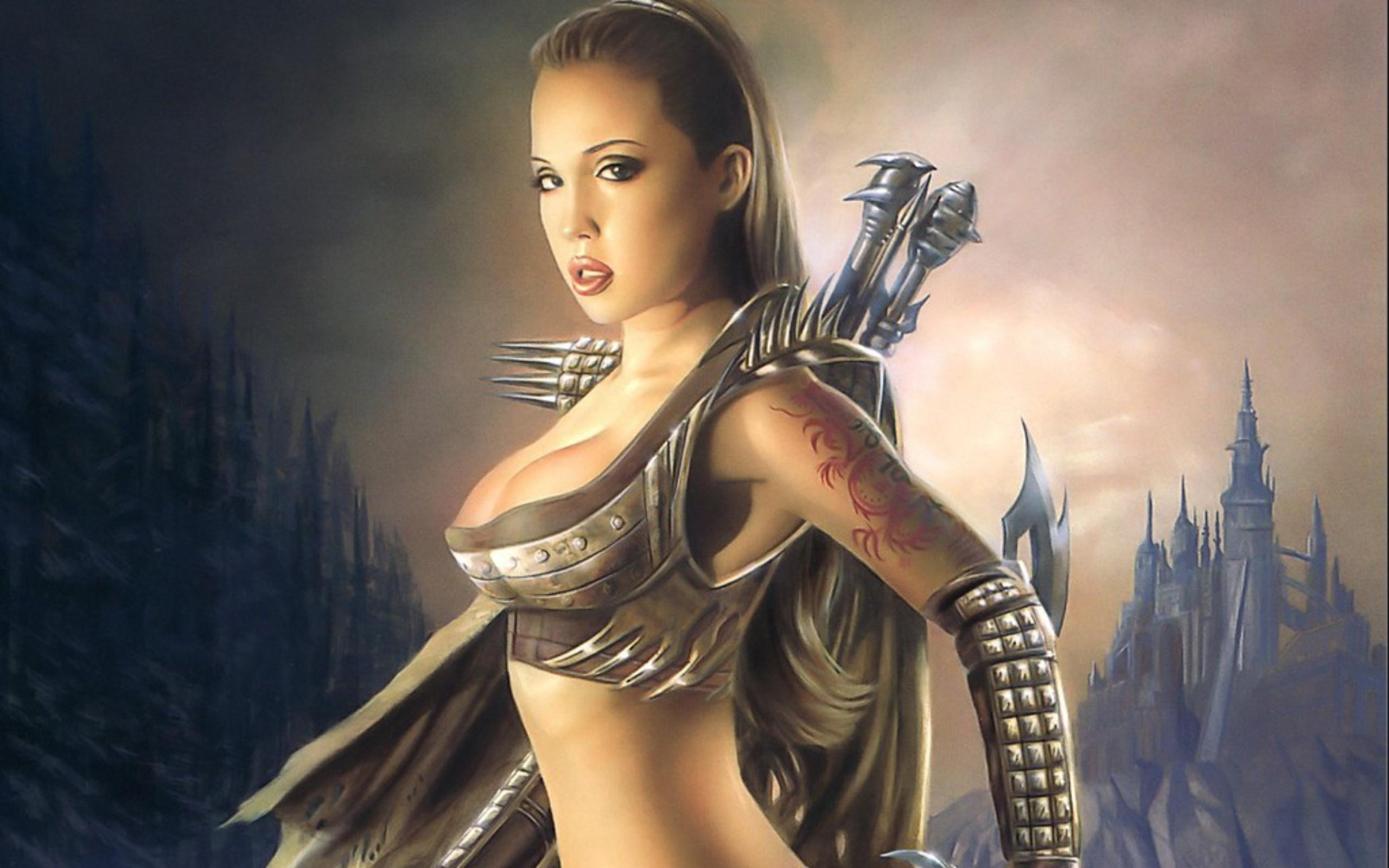 Fantasy warrior women wallpaper 78 images 3000x2151 fantasy women warrior wallpaper voltagebd Images