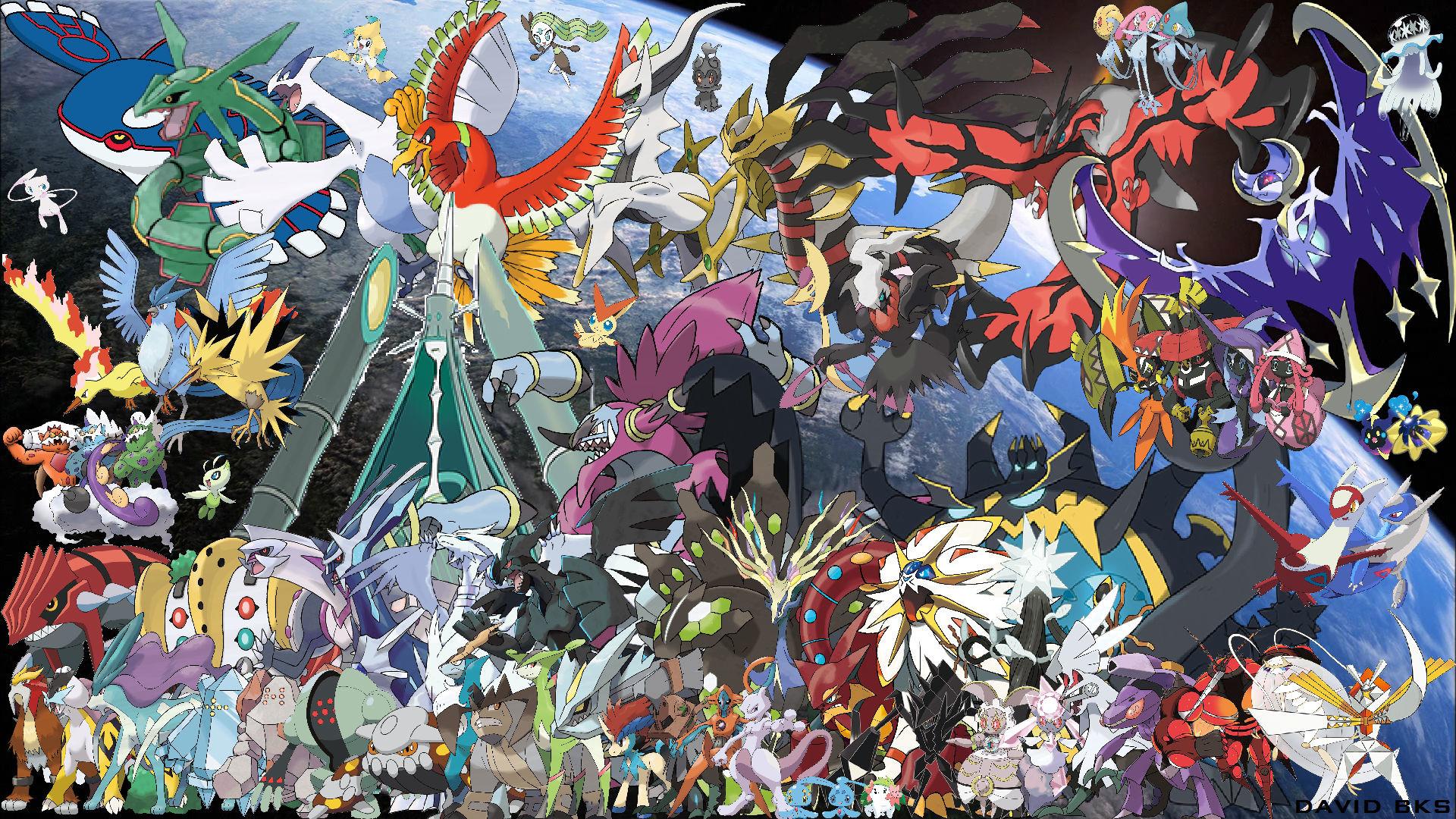 Pokemon Legendary Wallpaper (62+ images)