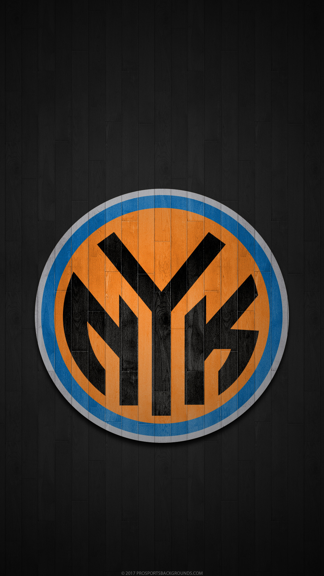 1080x1920 ... New York Knicks 2017 nba basketball hardwood team logo wallpaper for  iphone andriod and windows mobile