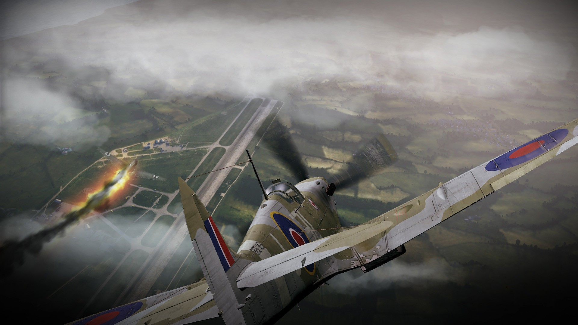 1920x1080 HD English fighter Supermarine Spitfire wallpaper English