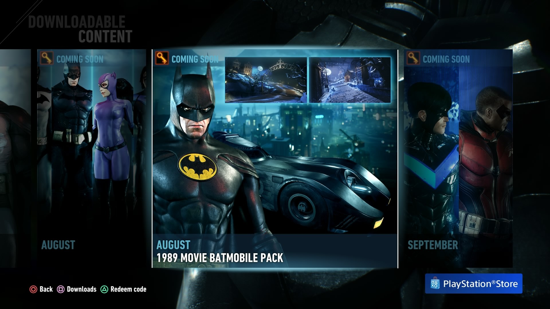 1920x1080 Batman Arkham Knight DLC 1989 Movie