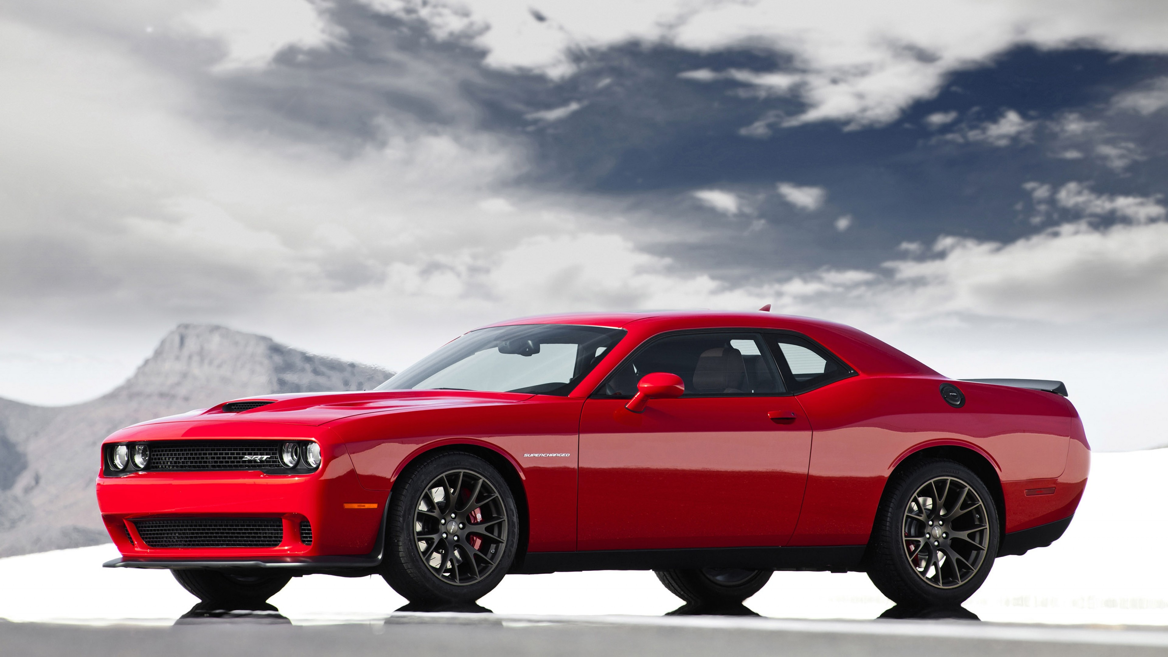 3840x2160 Preview wallpaper 2015, dodge, challenger, srt, hellcat