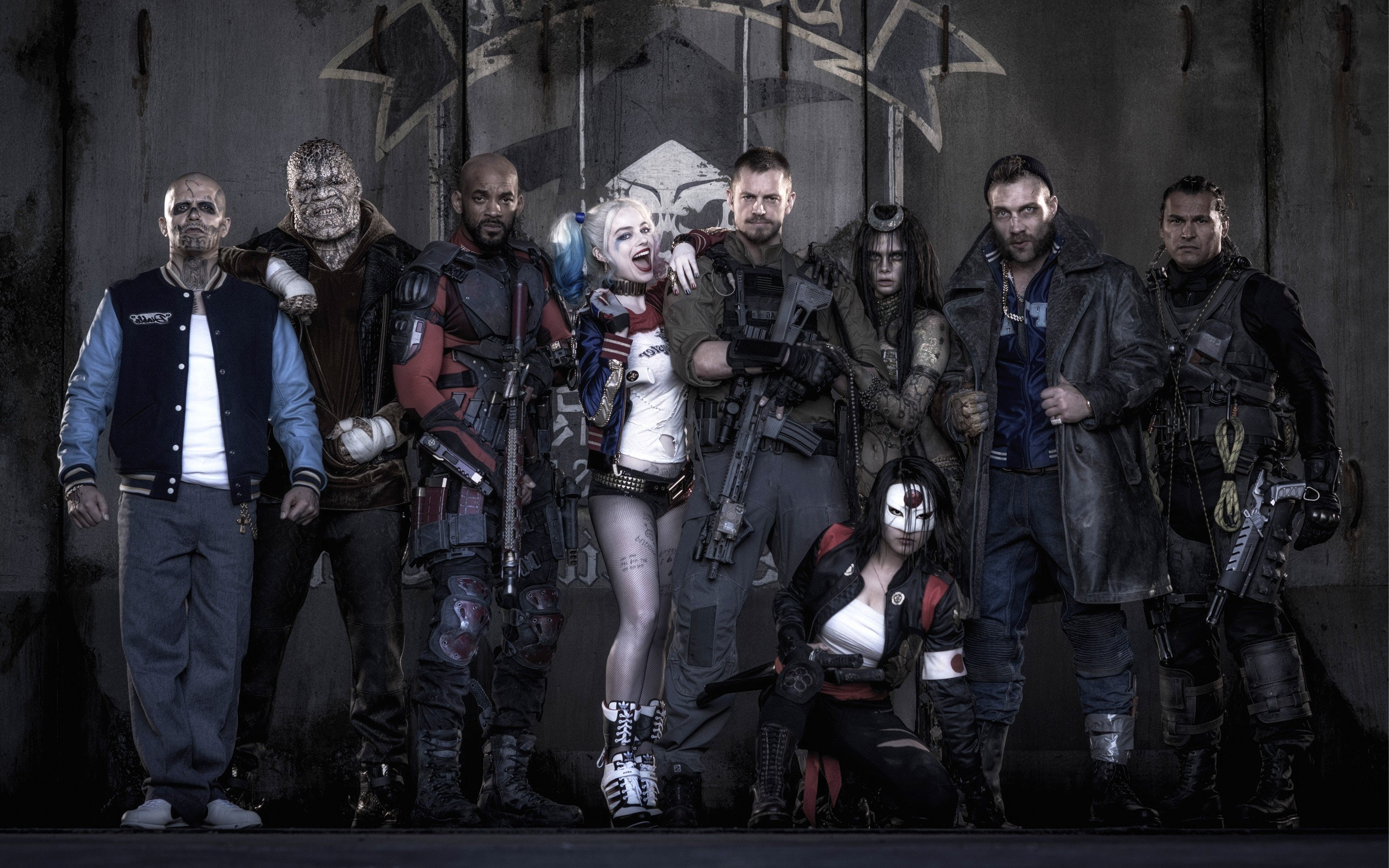 2880x1800 Suicide Squad Poster