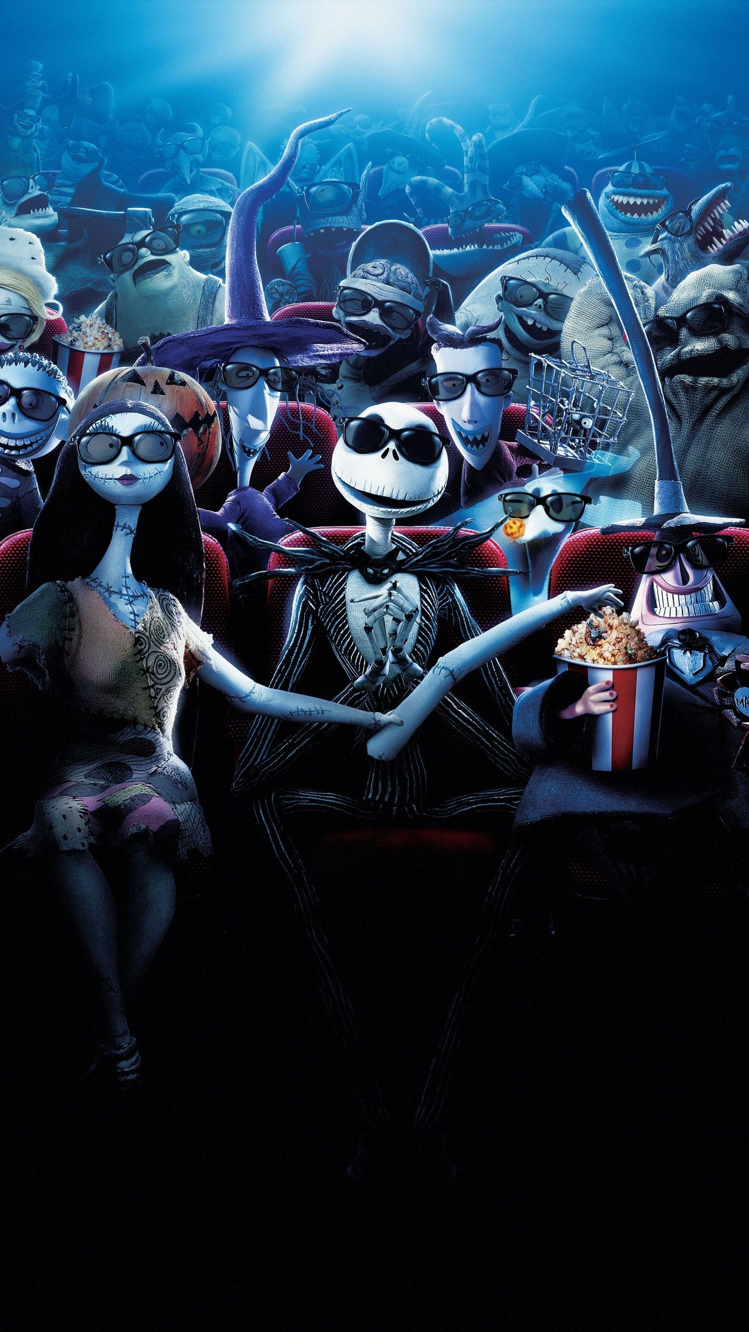Nightmare Before Christmas Phone Wallpaper 66 Images