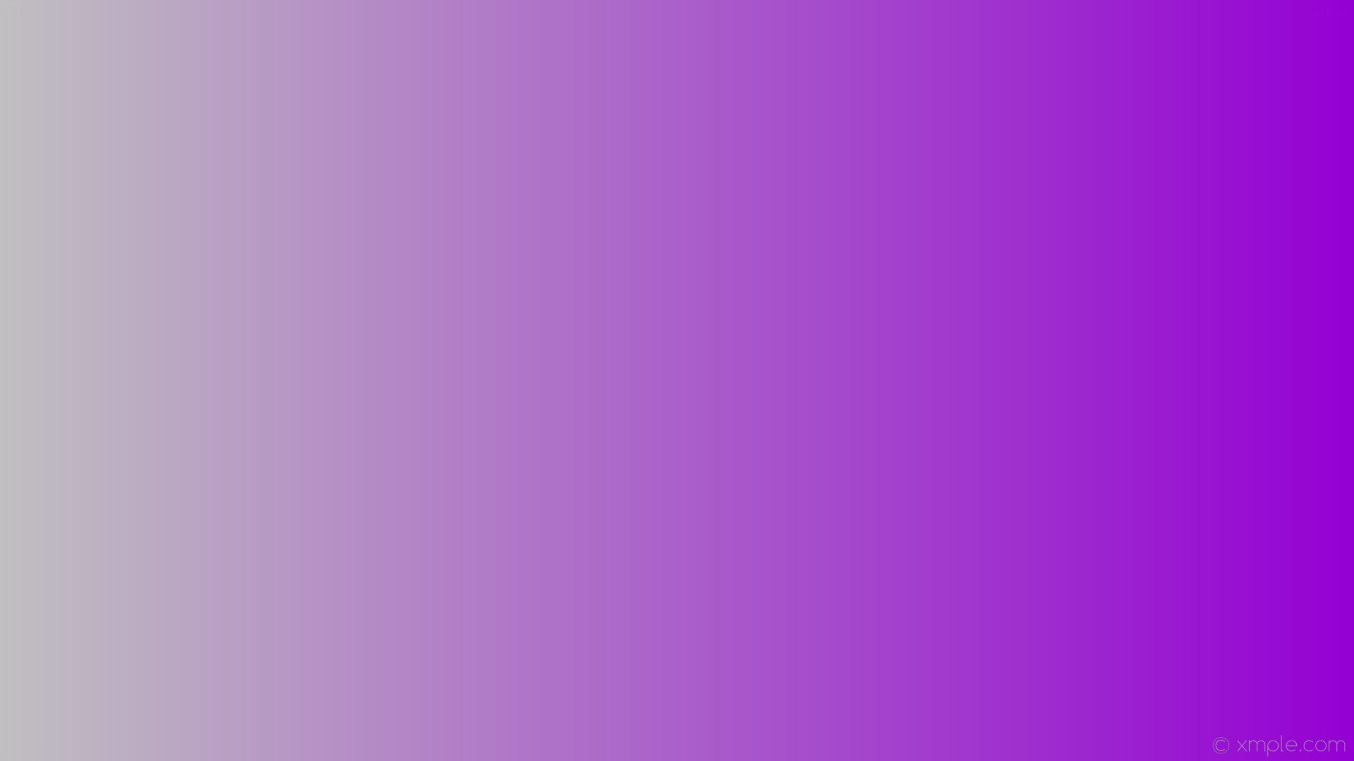 1920x1080 wallpaper purple grey gradient linear dark violet silver #9400d3 #c0c0c0 0°