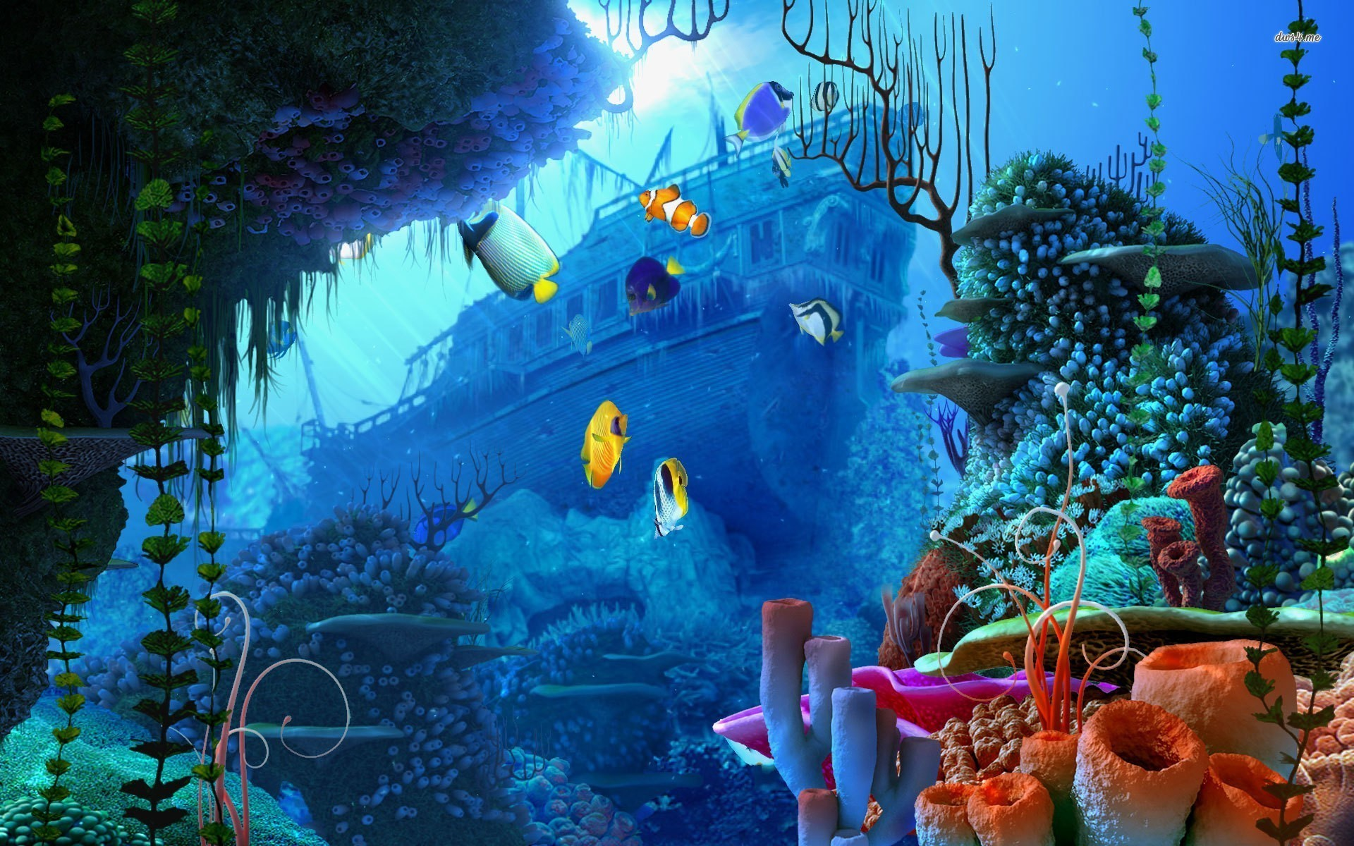 Underwater Backgrounds (66+ images)