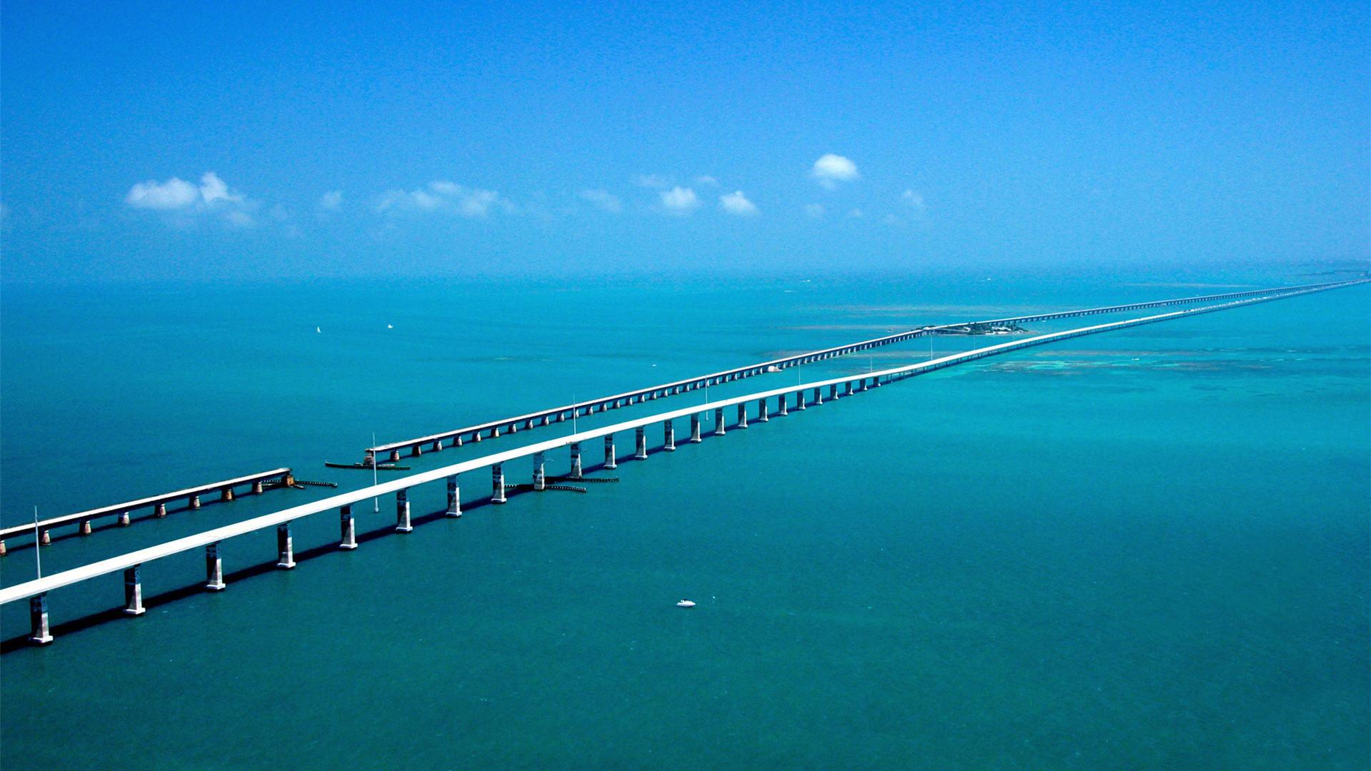 1920x1080 Florida Keys Bridge Pictures Wallpaper HD 1920x1080 #3061