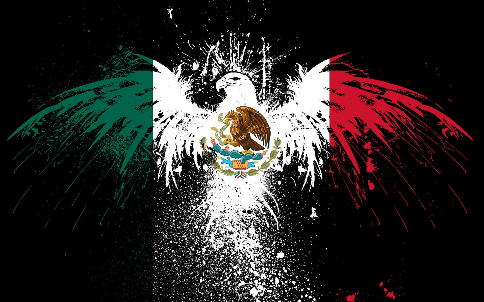 1920x1200 HDQ Cover Wallpapers, Mexico Flag - Keiran Barford