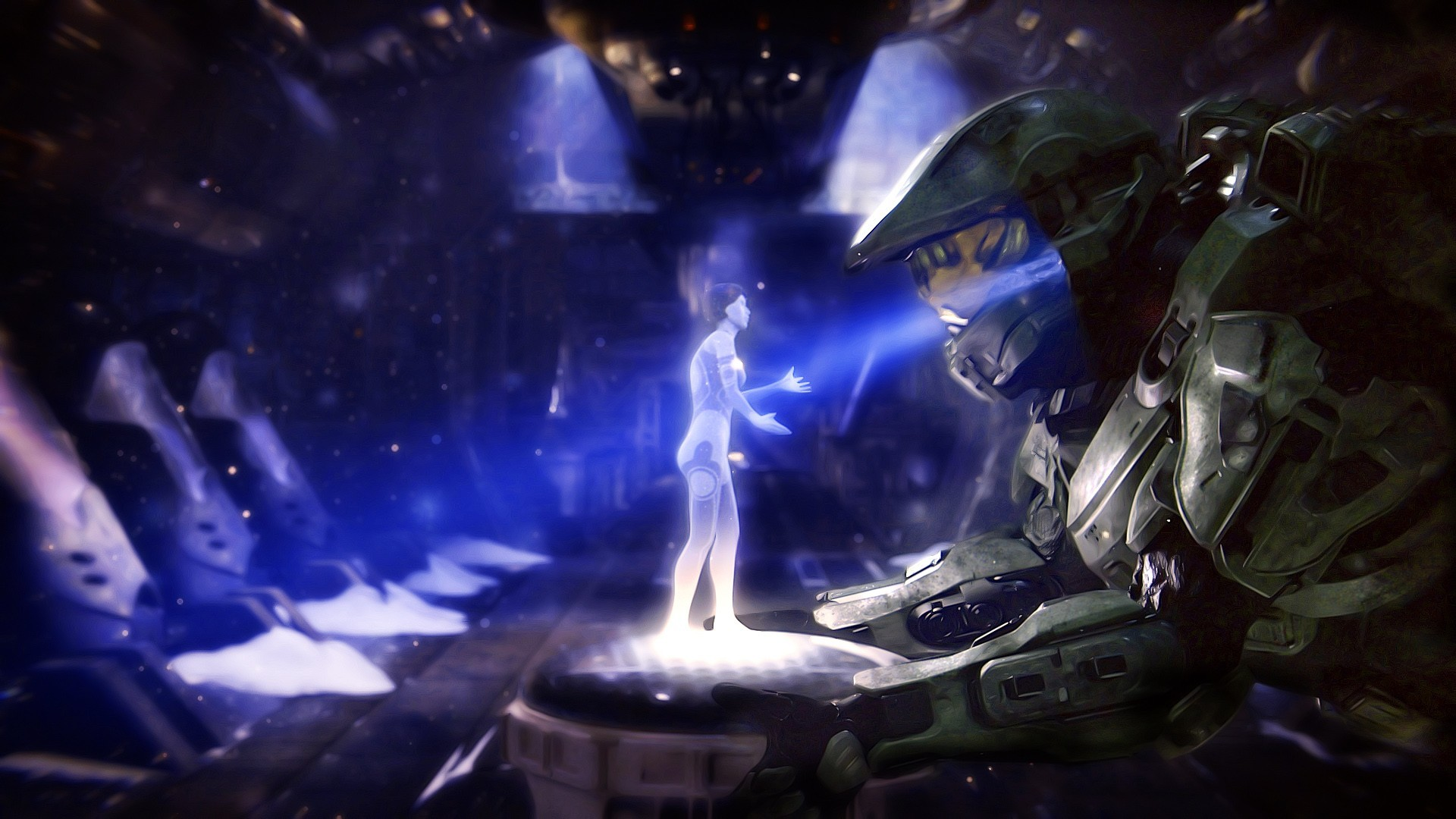 1920x1080 ... halo 5 cortana wallpaper wallpapersafari ...