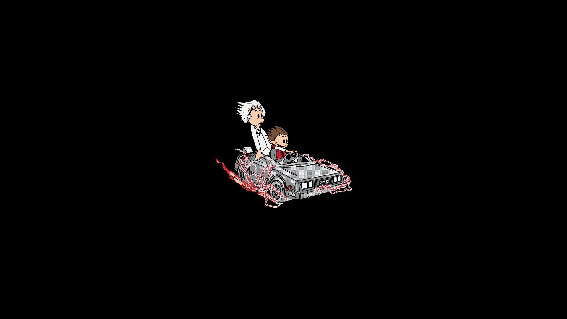 1920x1080 Back to the Future, Calvin and Hobbes Wallpapers HD / Desktop and Mobile  Backgrounds