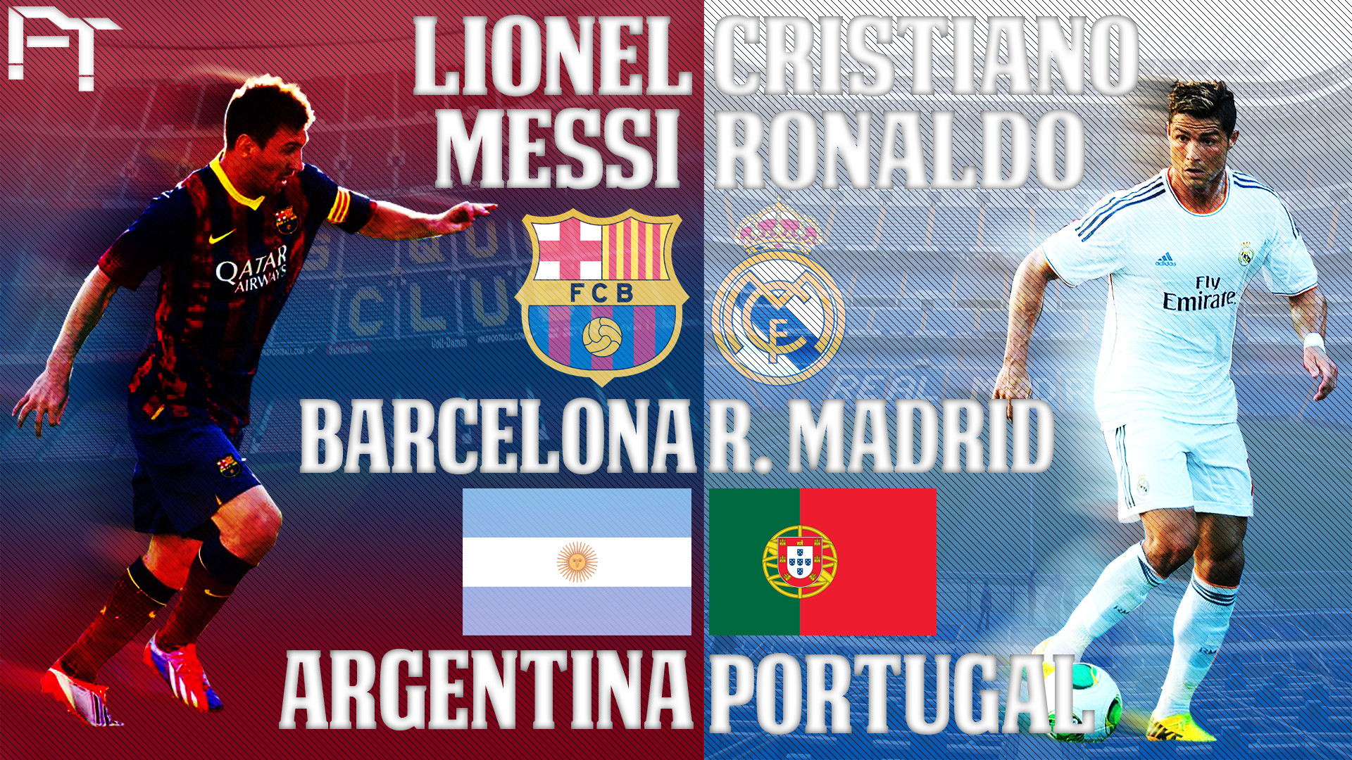 1920x1080  px; PC  Messi Vs Ronaldo Wallpaper, LifeWalls Wallpapers