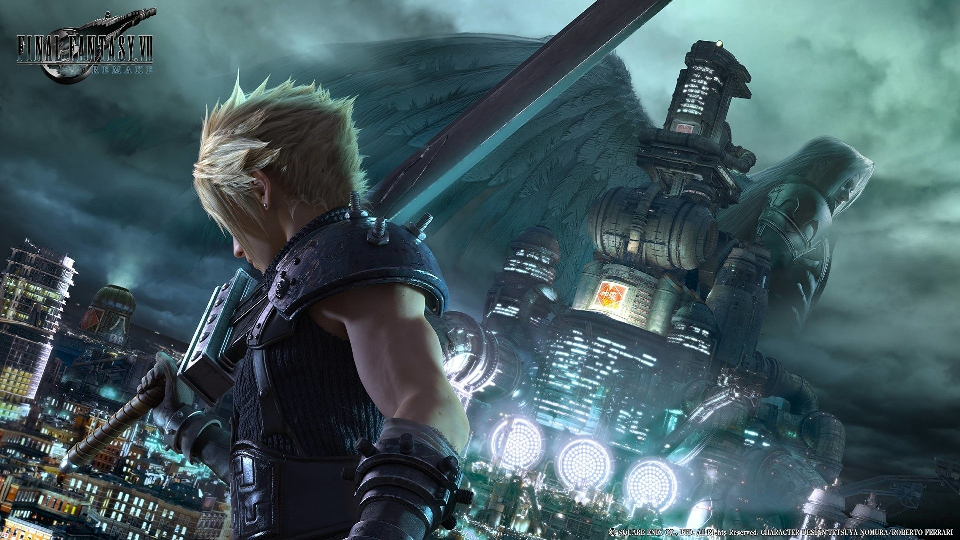1920x1080 Final Fantasy VII Desktop Wallpaper ...