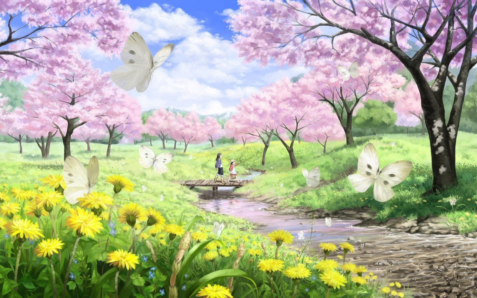 1920x1200 Spring nature desktop wallpaper wallpaper hd new.