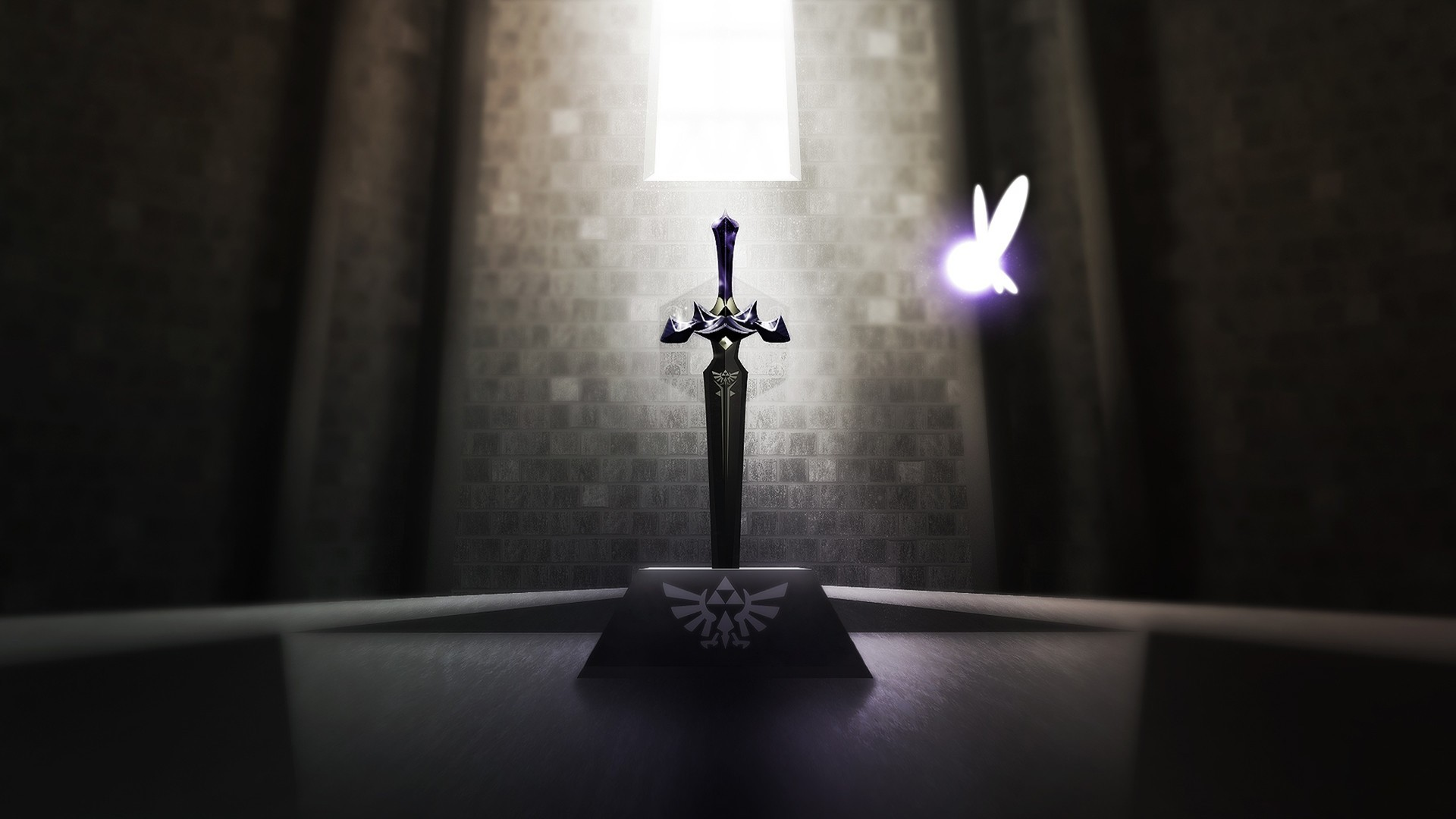 1920x1080 #The Legend of Zelda, #Master Sword wallpaper