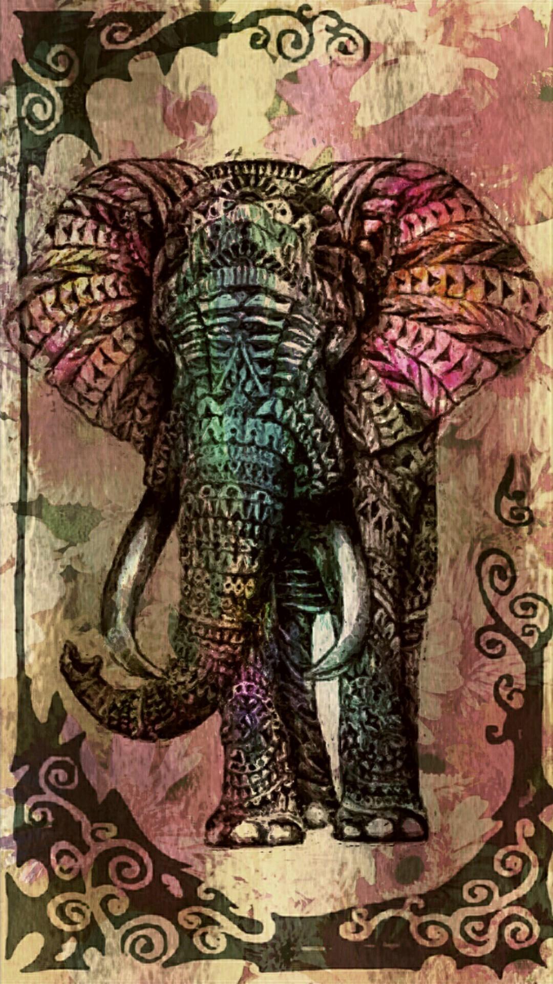Elephant Art Wallpaper (68+ images)