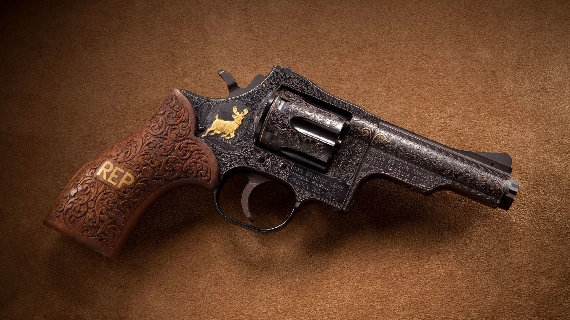 1920x1080 dan wesson 357 magnum revolver backgrounds for widescreen by Duarte Waite