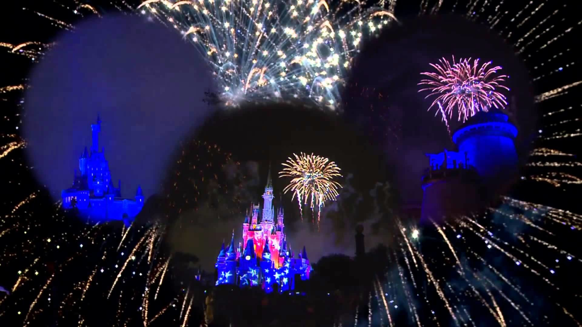 1920x1080 4th of July Fireworks at Disney World's Magic Kingdom multi angle HD 2013 -  YouTube