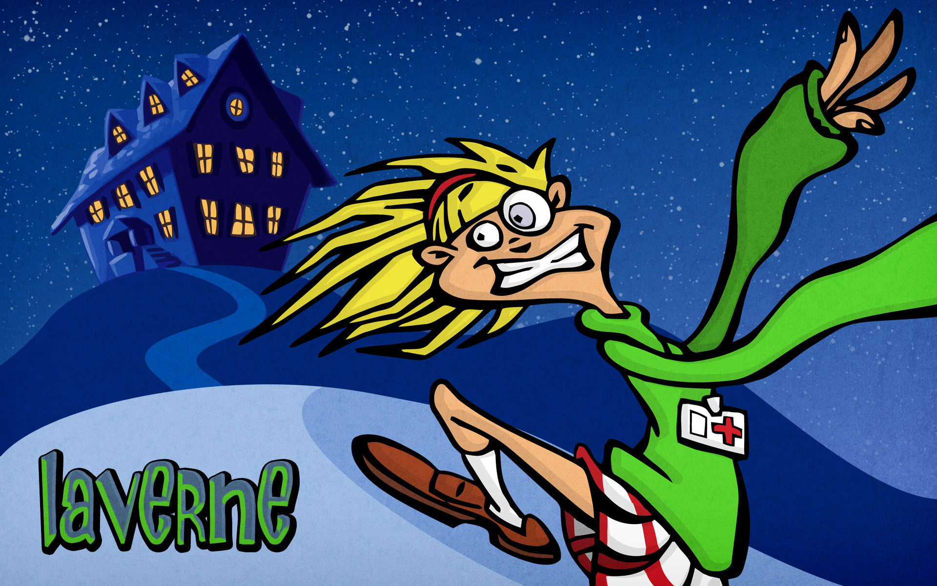 1920x1200 Day of the Tentacle images Desktop Wallpaper: Laverne HD wallpaper and background  photos