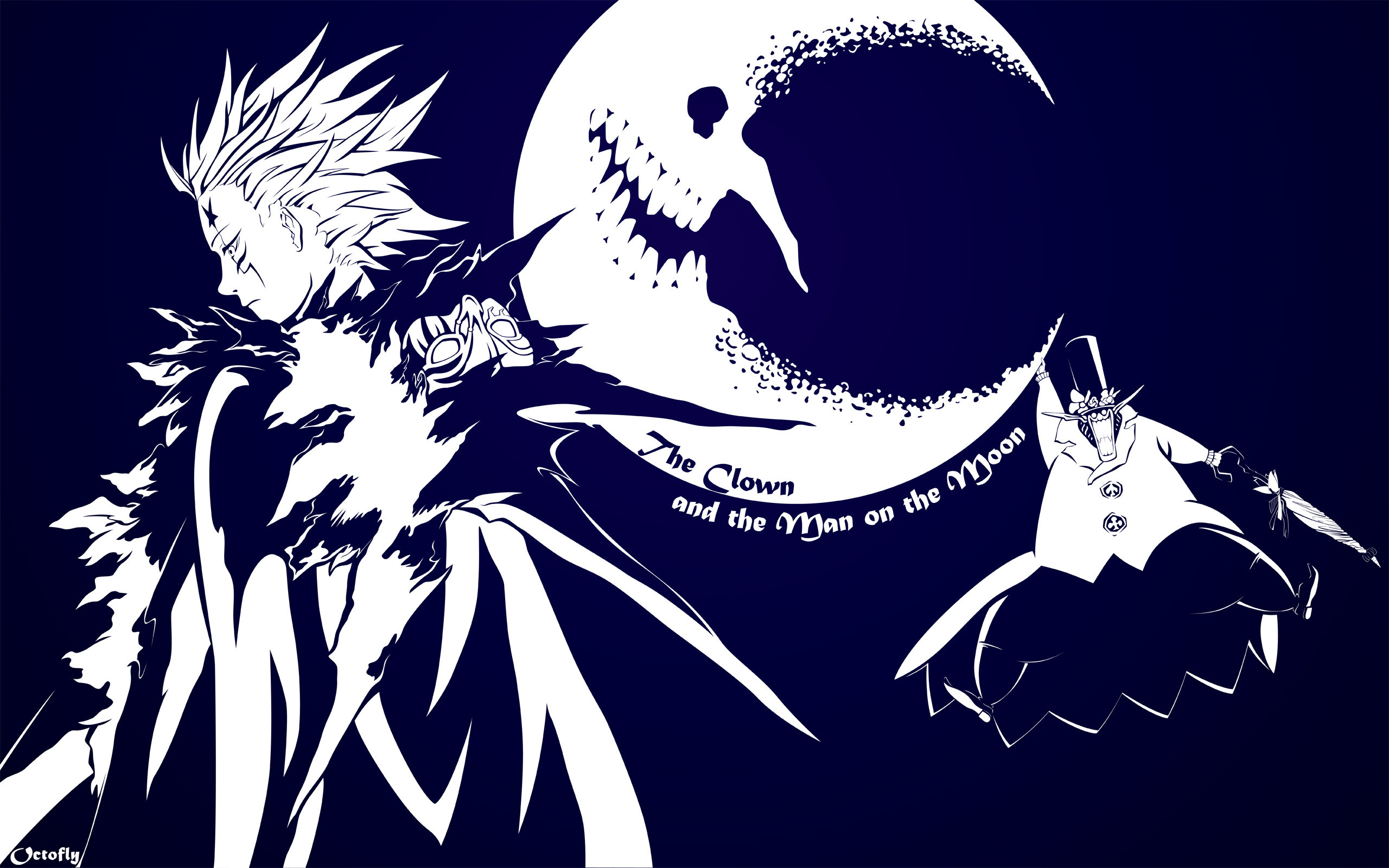 2560x1600 D Gray Man Background