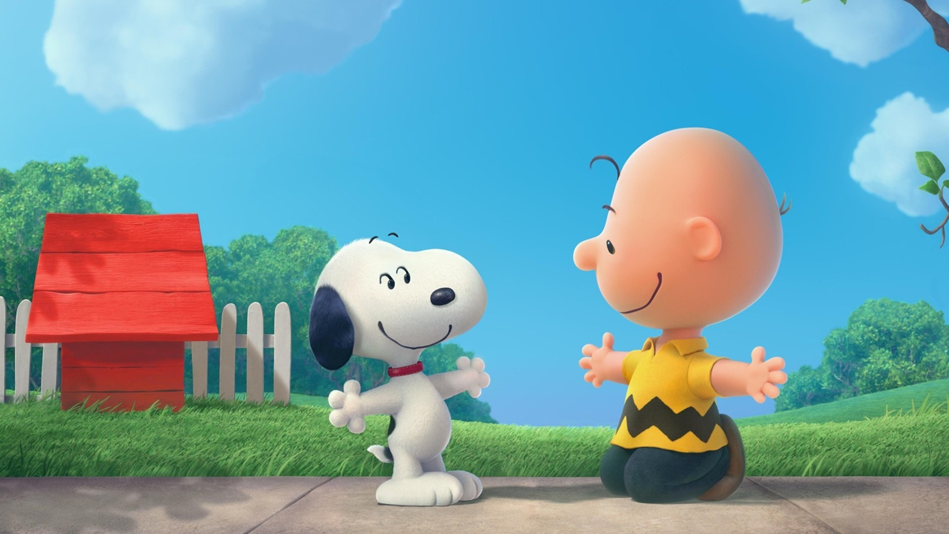 1920x1080 Free Download The Peanuts Movie Snoopy And Charlie Brown Wallpaper .