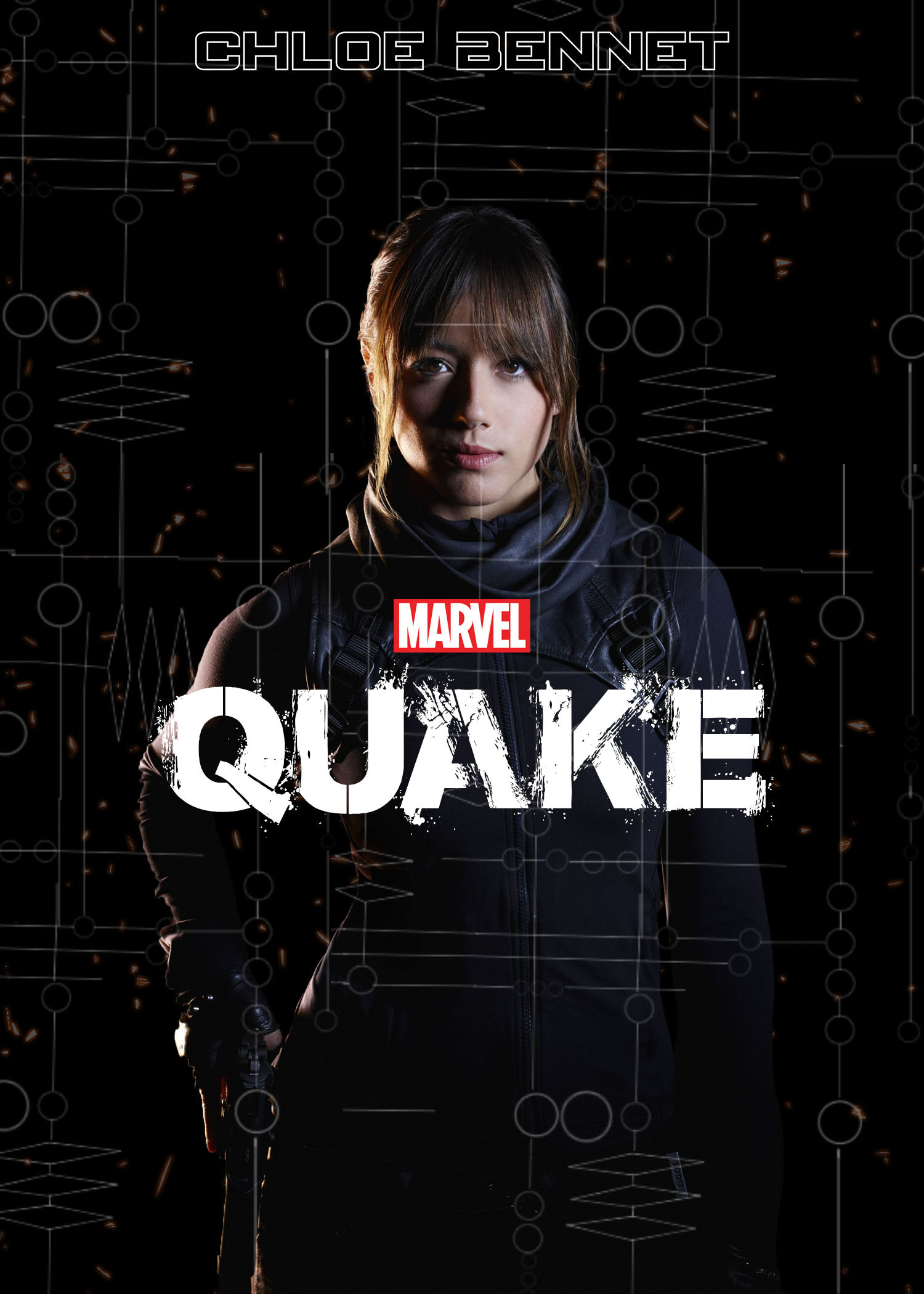 1500x2100 Marvel's Agents of Shield Season 3: 4 minute preview ft Quake