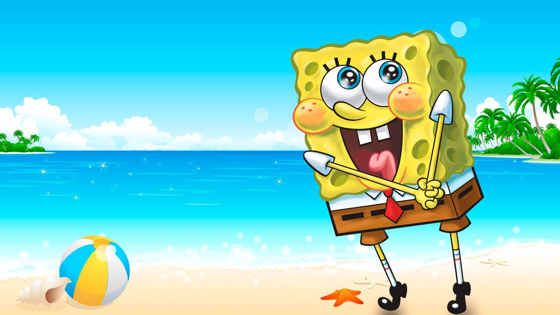 1920x1080 Spongebob 1080p Background
