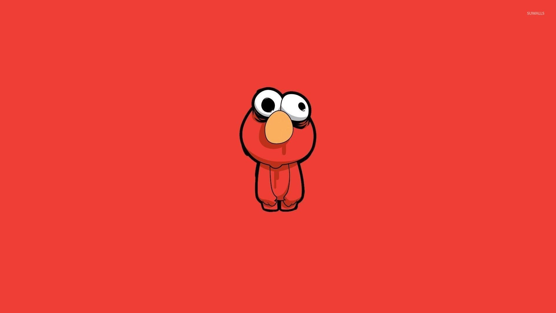 1920x1080 Zombie Elmo wallpaper - Funny wallpapers - #29496