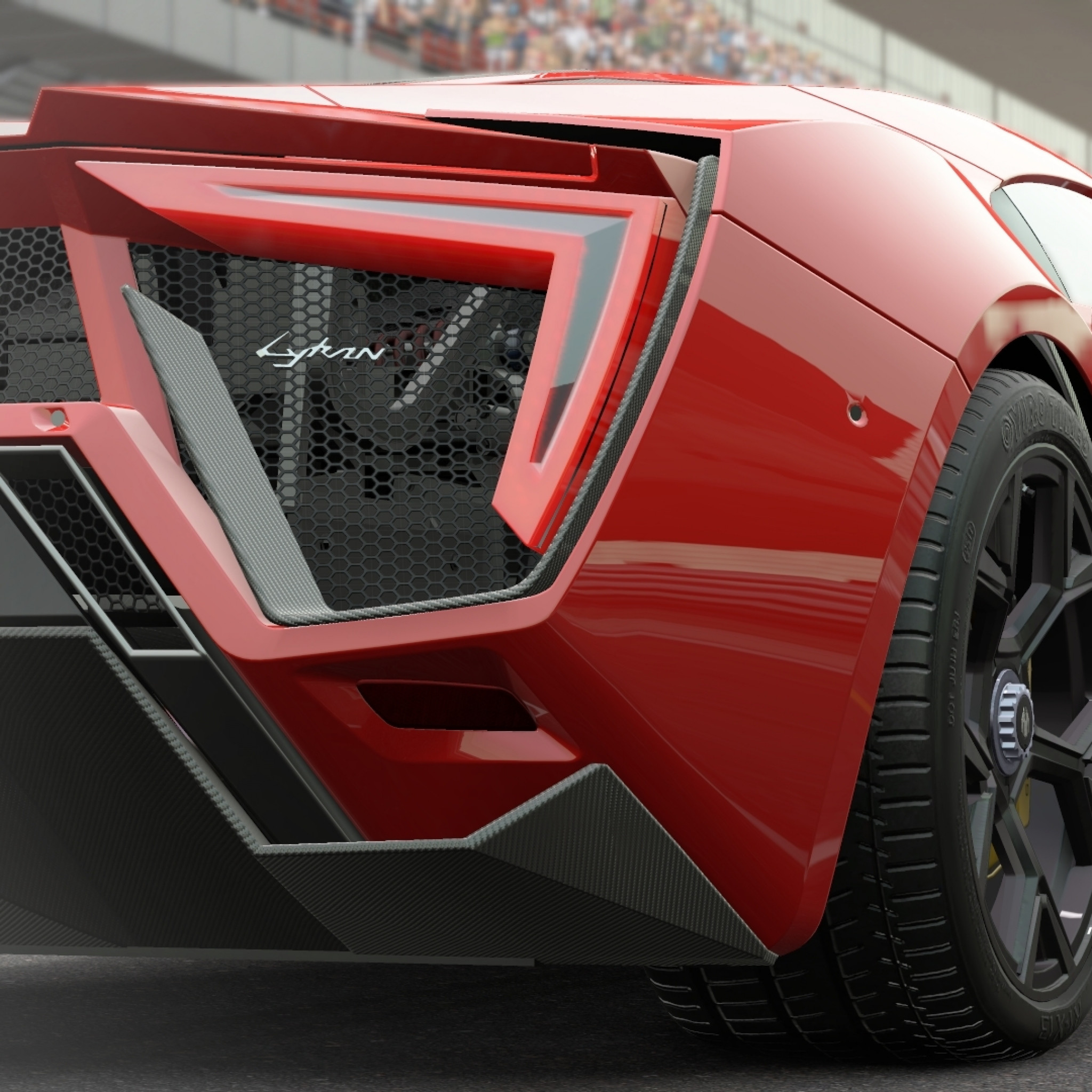 2048x2048 Preview wallpaper project cars, lykan hypersport, hypersport