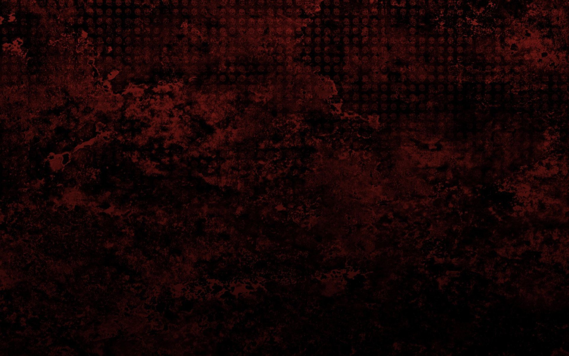1920x1200 Skull pattern on a red grunge Wallpaper 28537