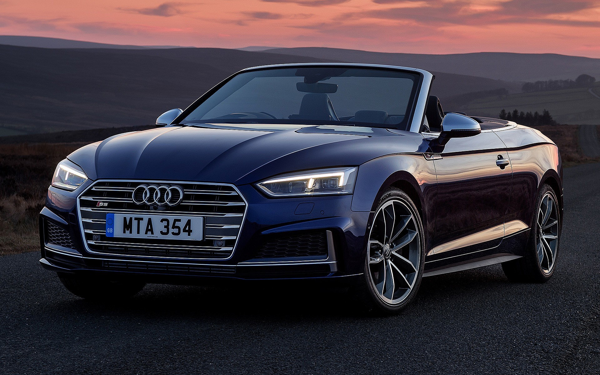 1920x1200 2017 Audi Tt Roadster S Linie Wettbewerb Auto Tapete S5 Widescreen