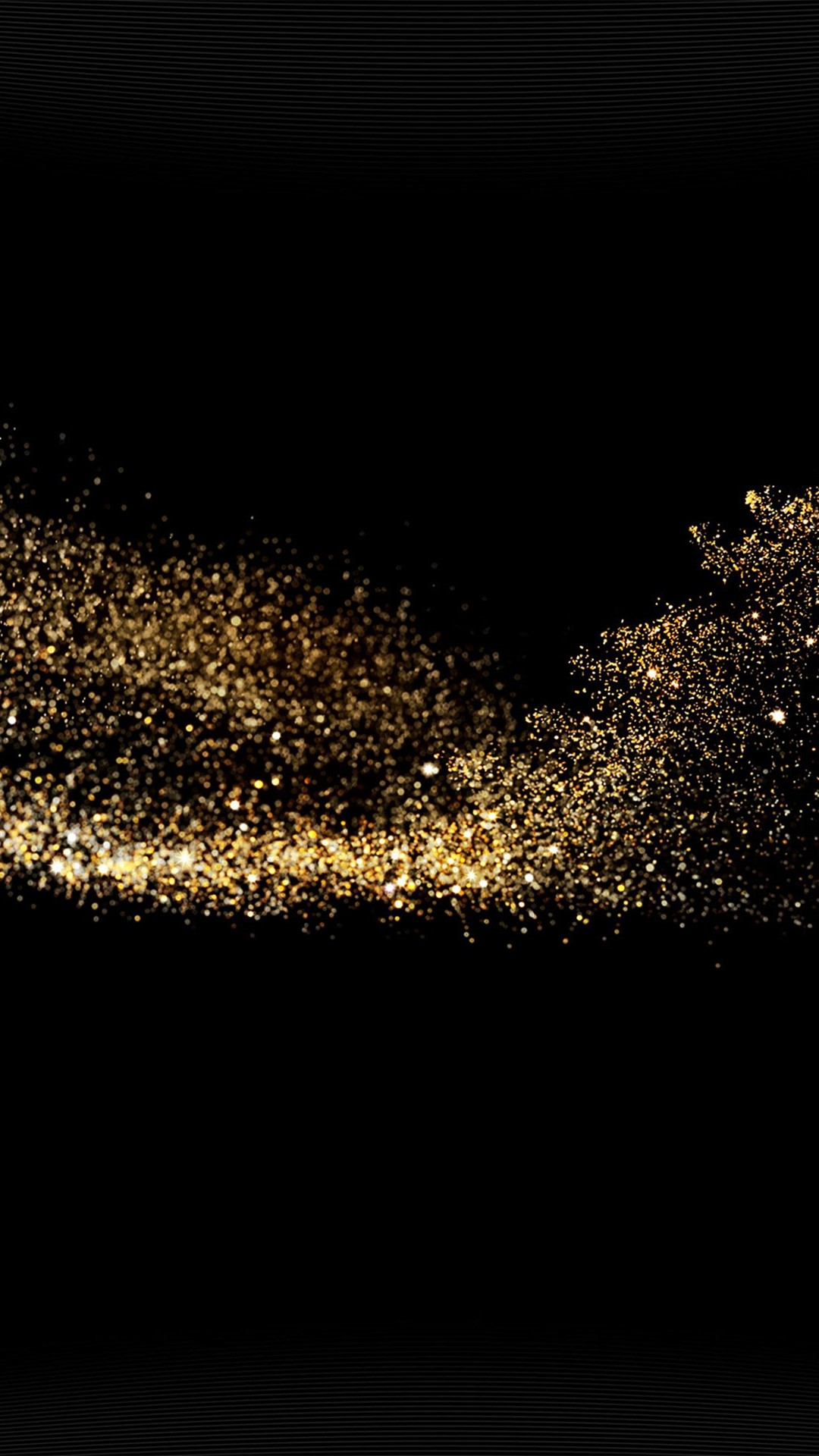 1080x1920 Gold Sparkle Beauty Dark Pattern #iPhone #6 #plus #wallpaper