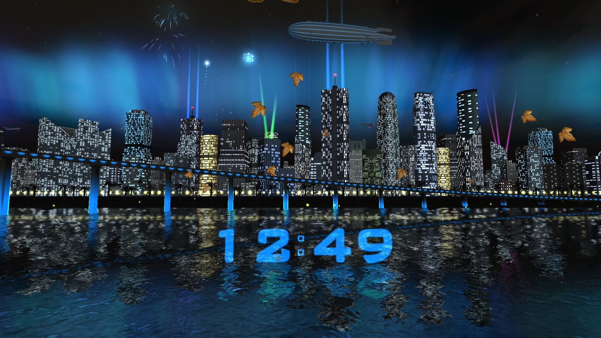1920x1080 Day Night City Fireworks LWP (v.1.0.3) - Live wallpaper by Exacron Full  HD(1080p) - YouTube