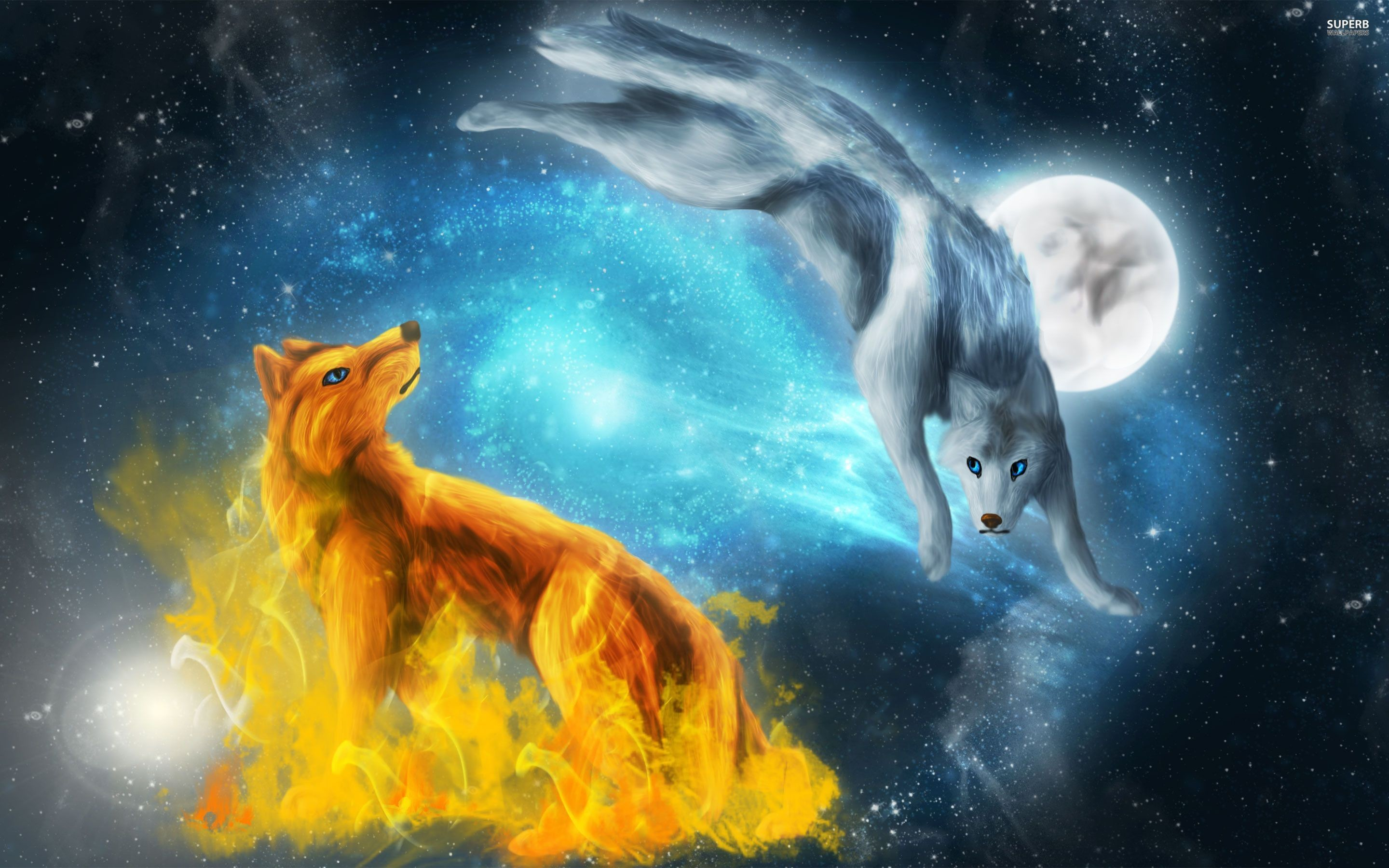 2880x1800 Fantasy Wolf Wallpapers - Wallpaper Cave