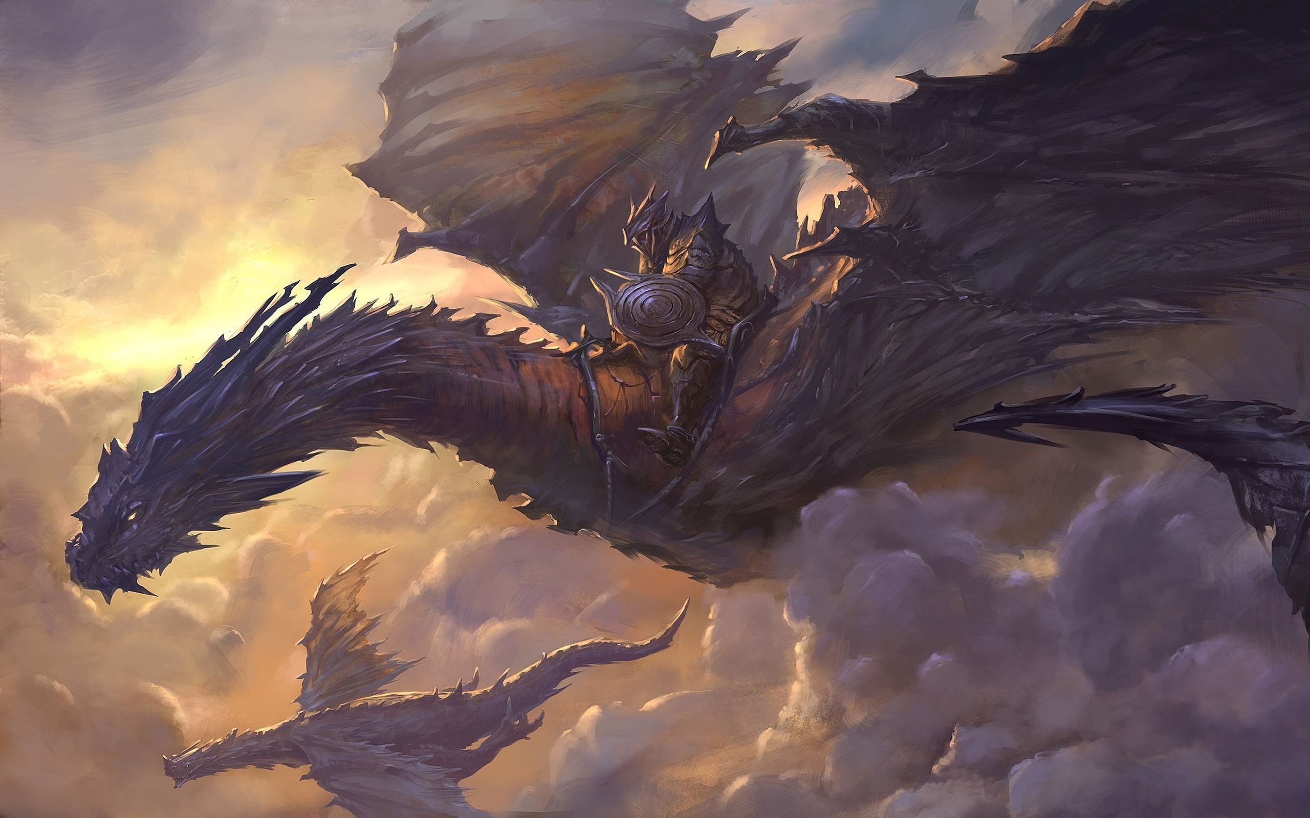 2560x1600 artwork, Dragon, Fantasy Art, Concept Art Wallpapers HD / Desktop and  Mobile Backgrounds