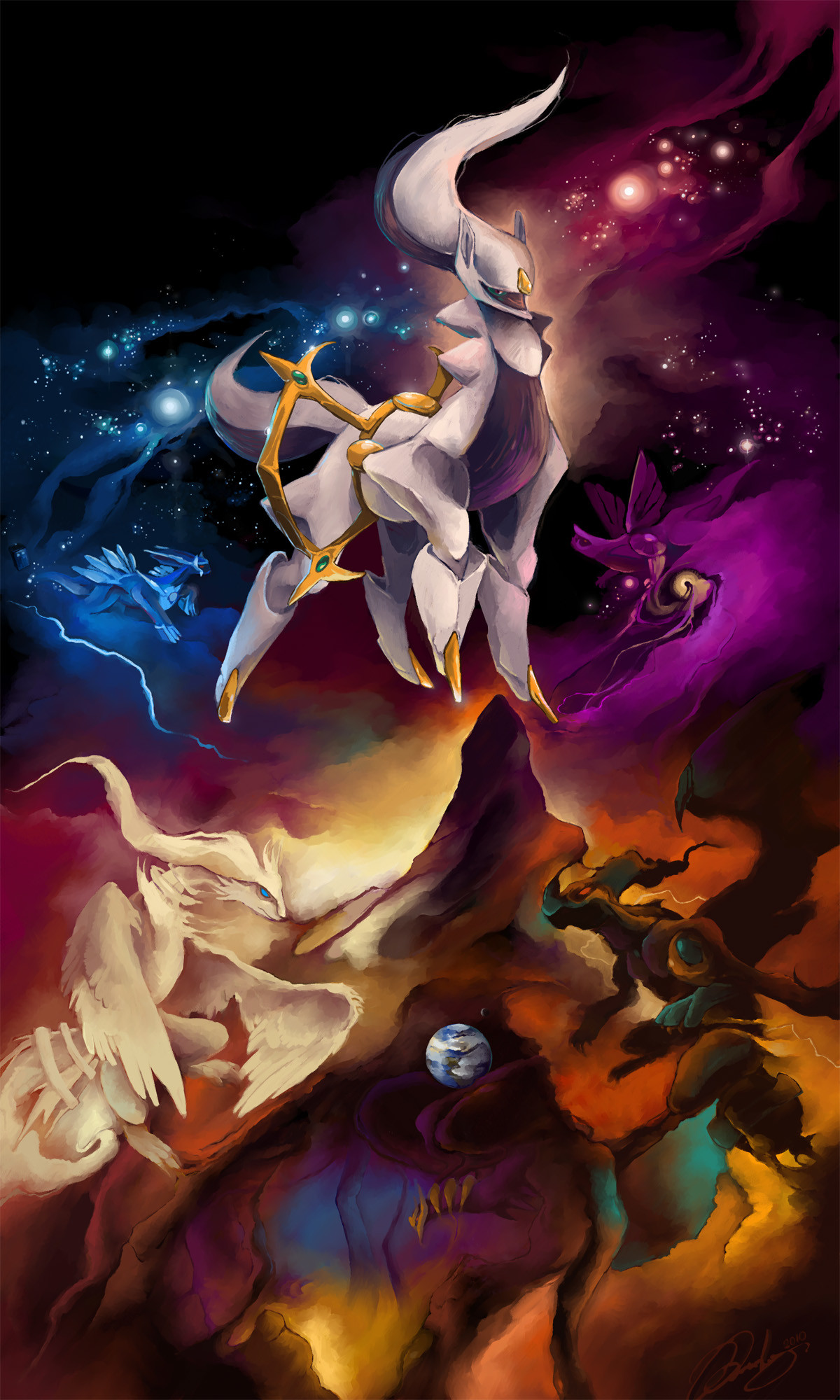 Pokemon Legendary Dialga and Palkia Wallpaper (51+ images)Arceus Vs Giratina Dialga And Palkia